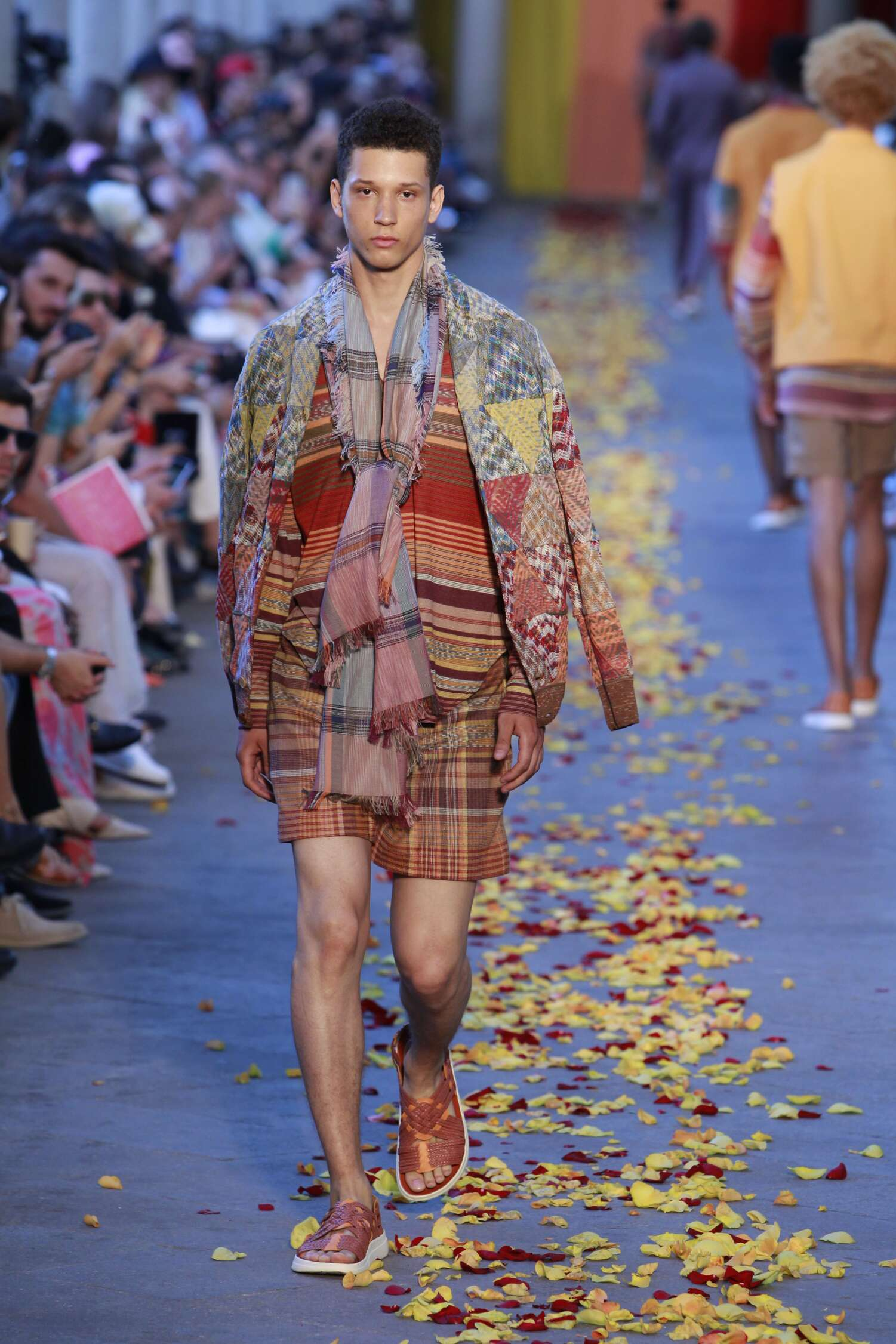 Spring Missoni Collection Fashion Men Model