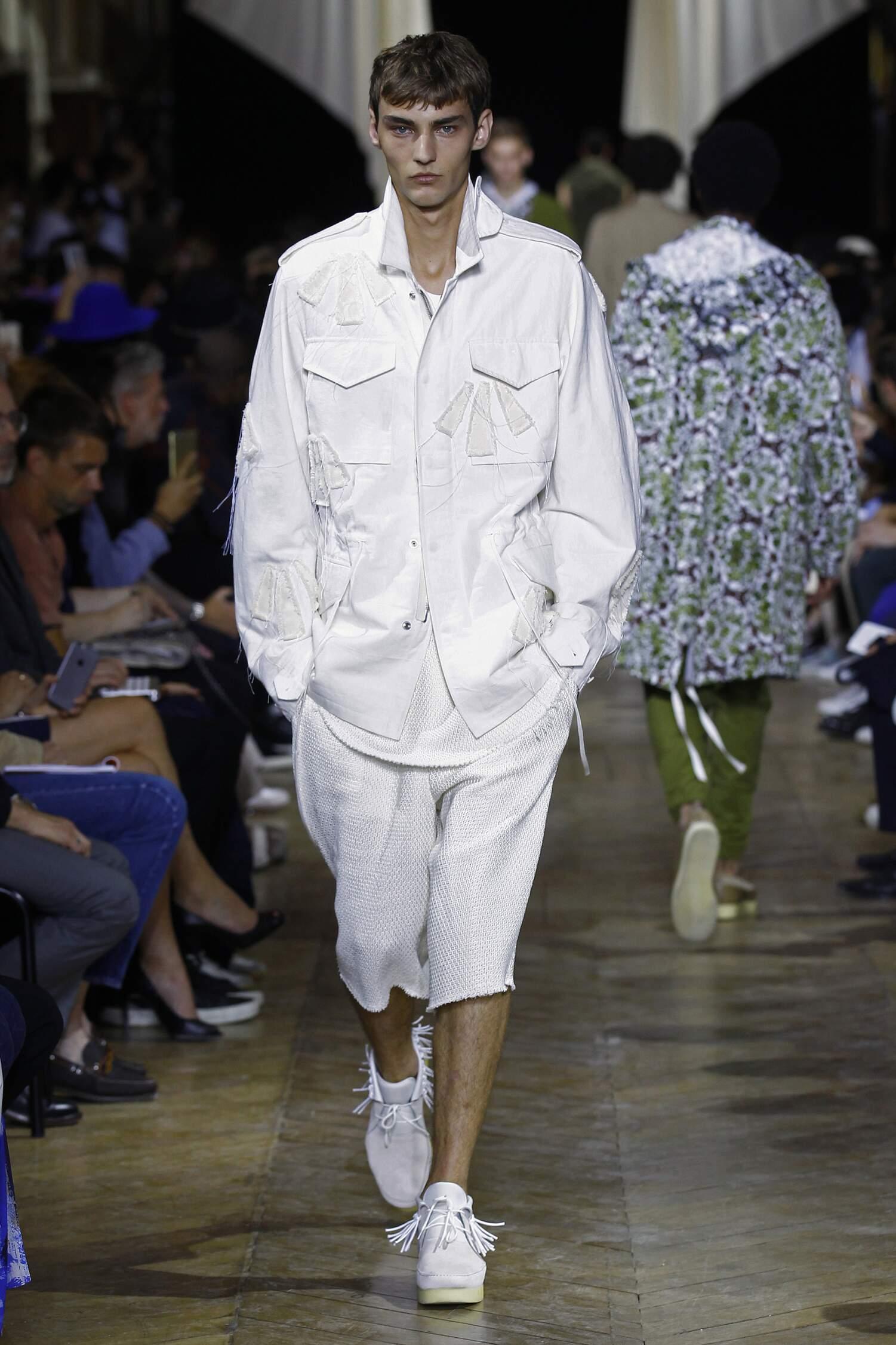 Spring Phillip Lim Collection Fashion Men Model