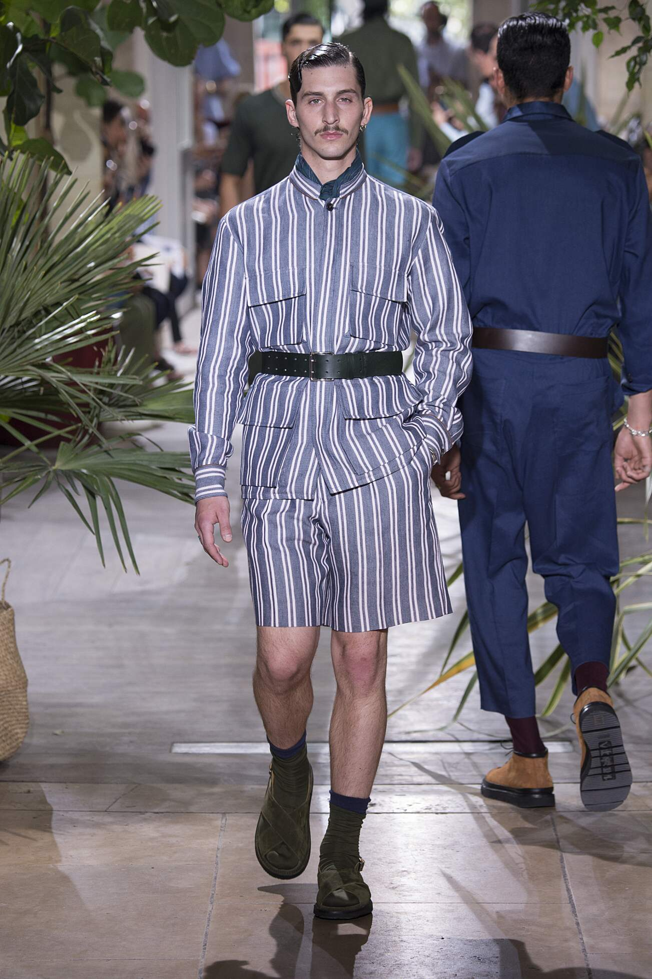 Umit Benan Spring Summer 2016 Menswear Collection Paris Fashion Week Fashion Show