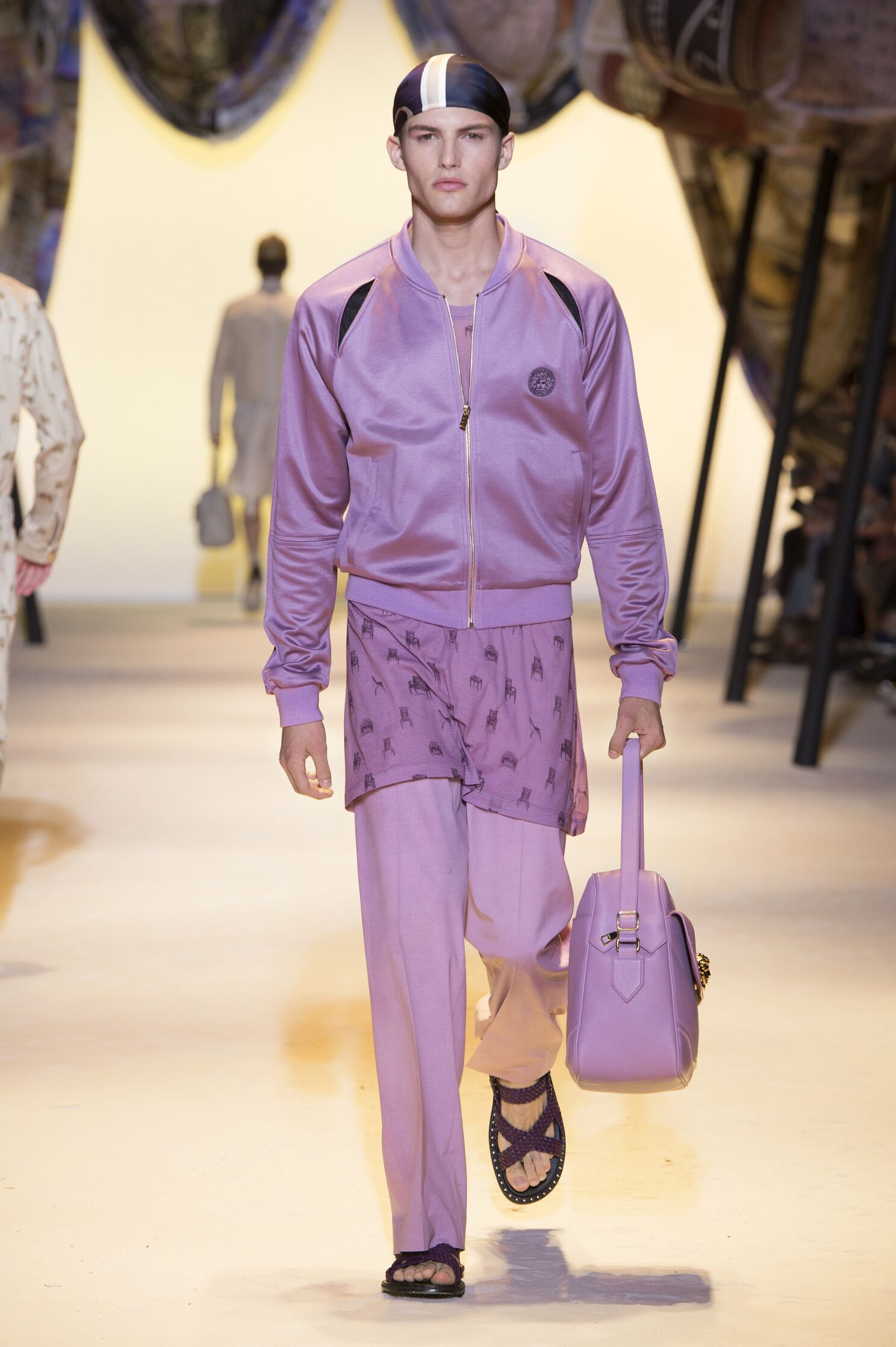 Versace Collection Milan Fashion Week Menswear