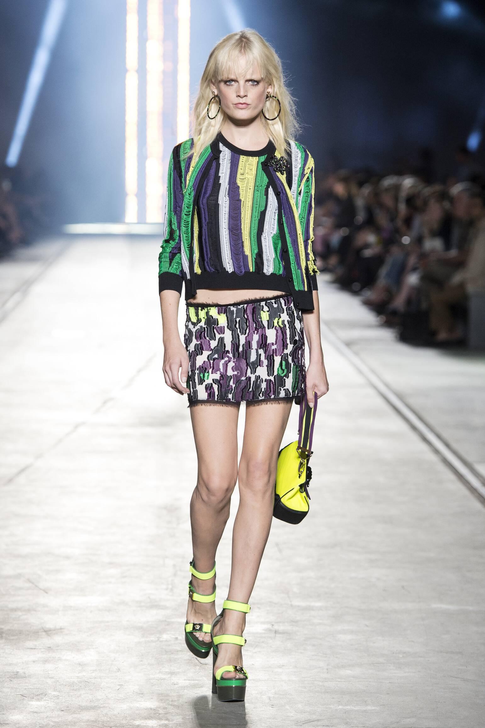 2016 Versace Spring Catwalk