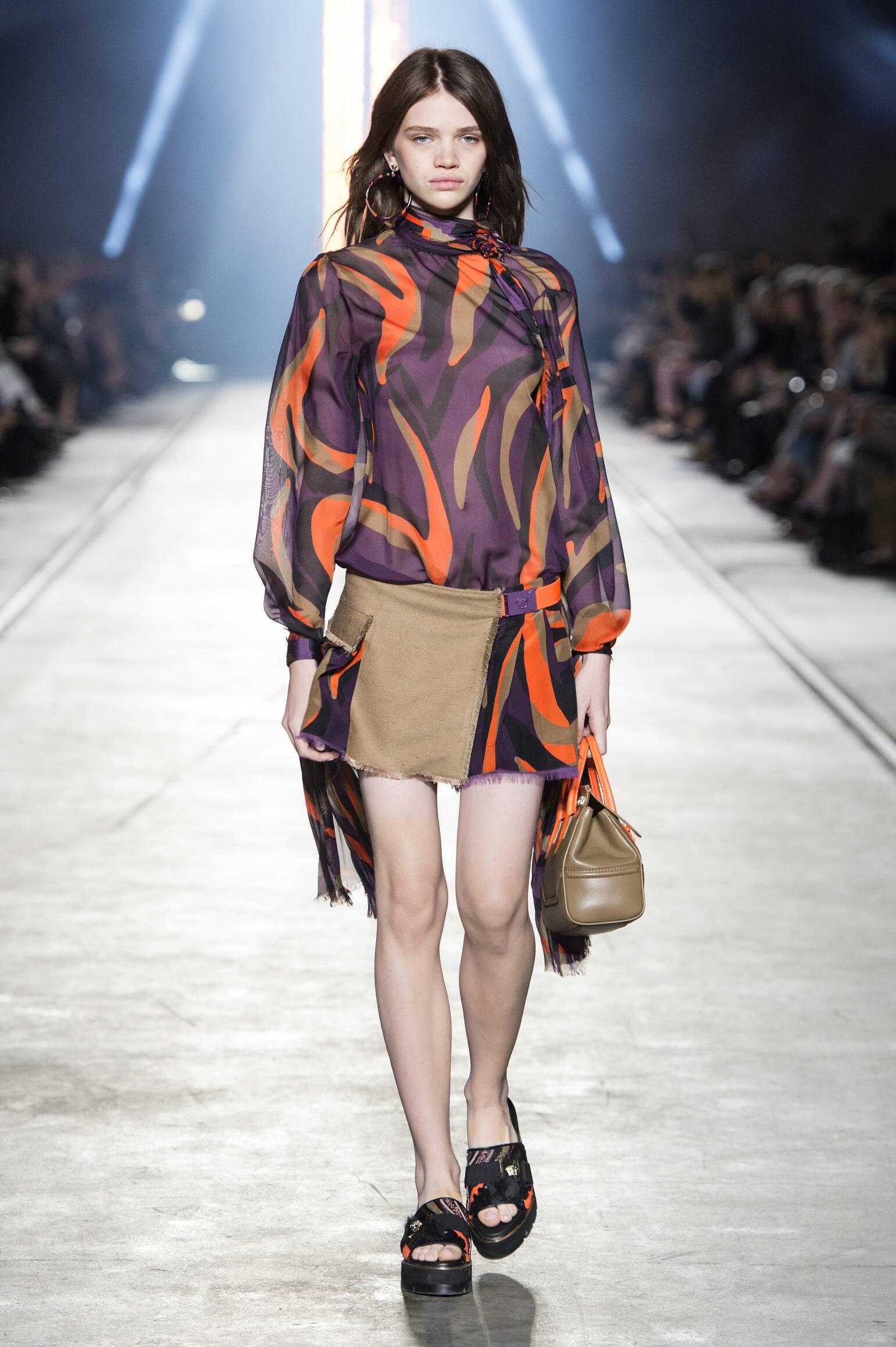 2016 Versace Summer Catwalk