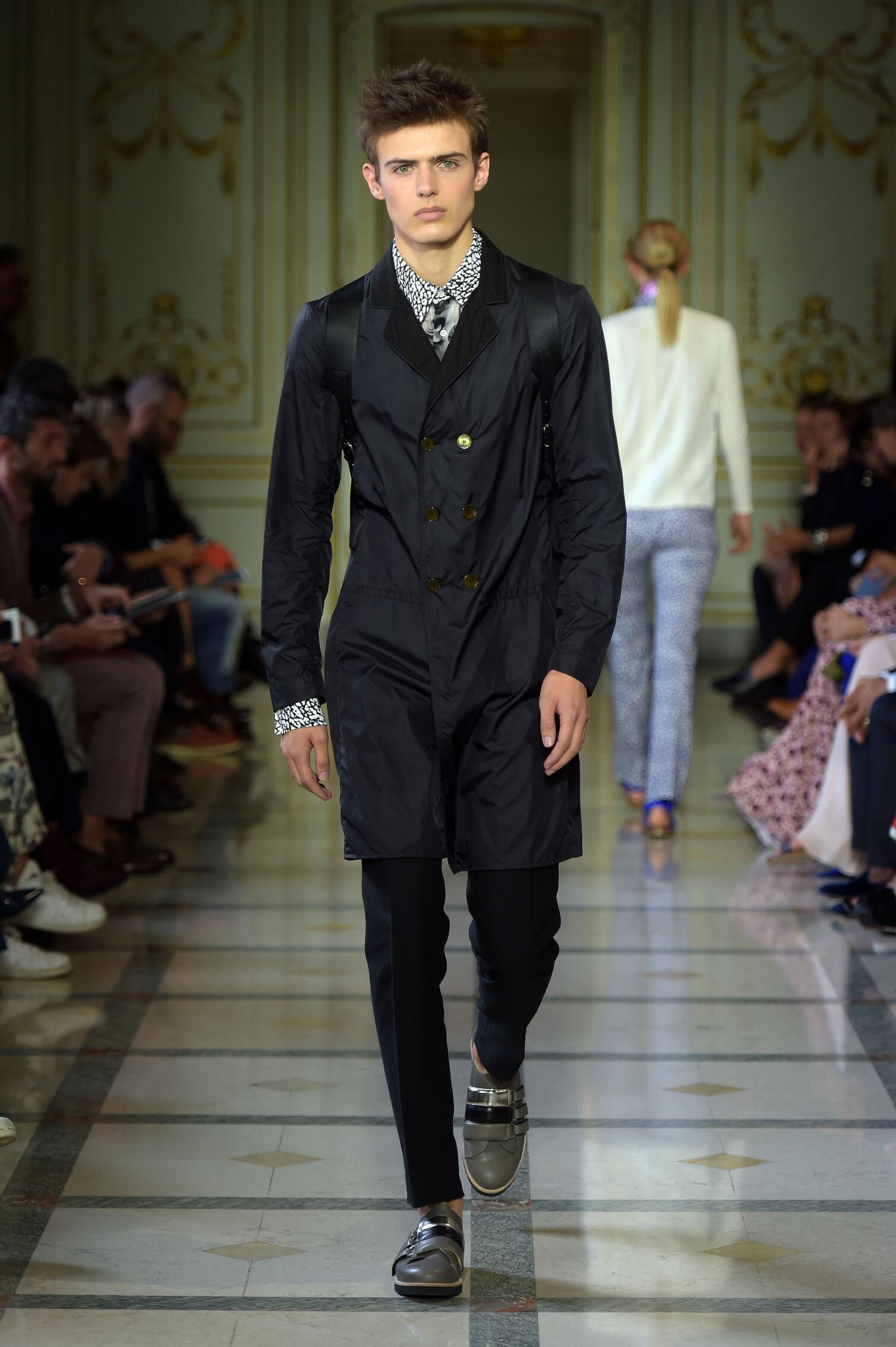 Andrea Incontri Milan Fashion Week Menswear