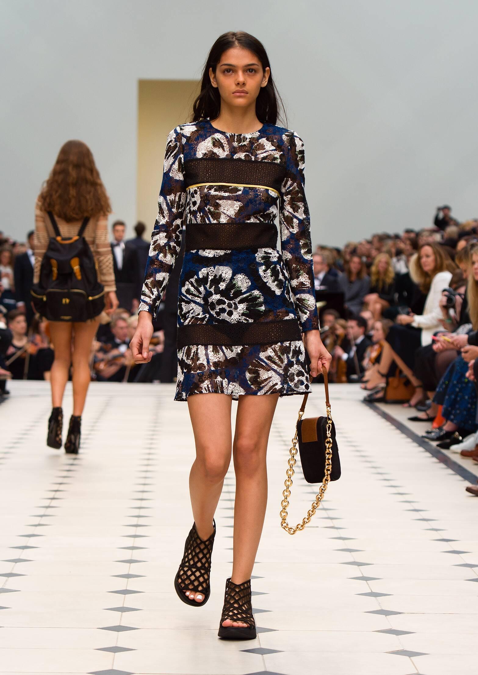 Burberry Prorsum London Fashion Week Womenswear