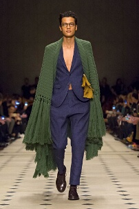 BURBERRY PRORSUM AUTUMN WINTER 2015 MEN'S COLLECTION – LONDON FASHION WEEK