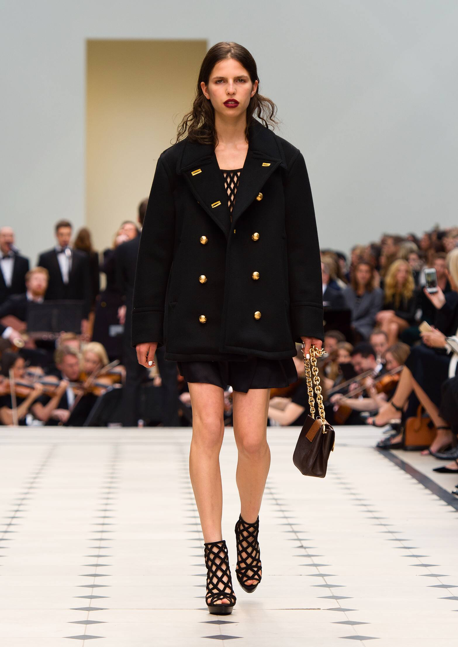 Burberry Prorsum Woman 2016