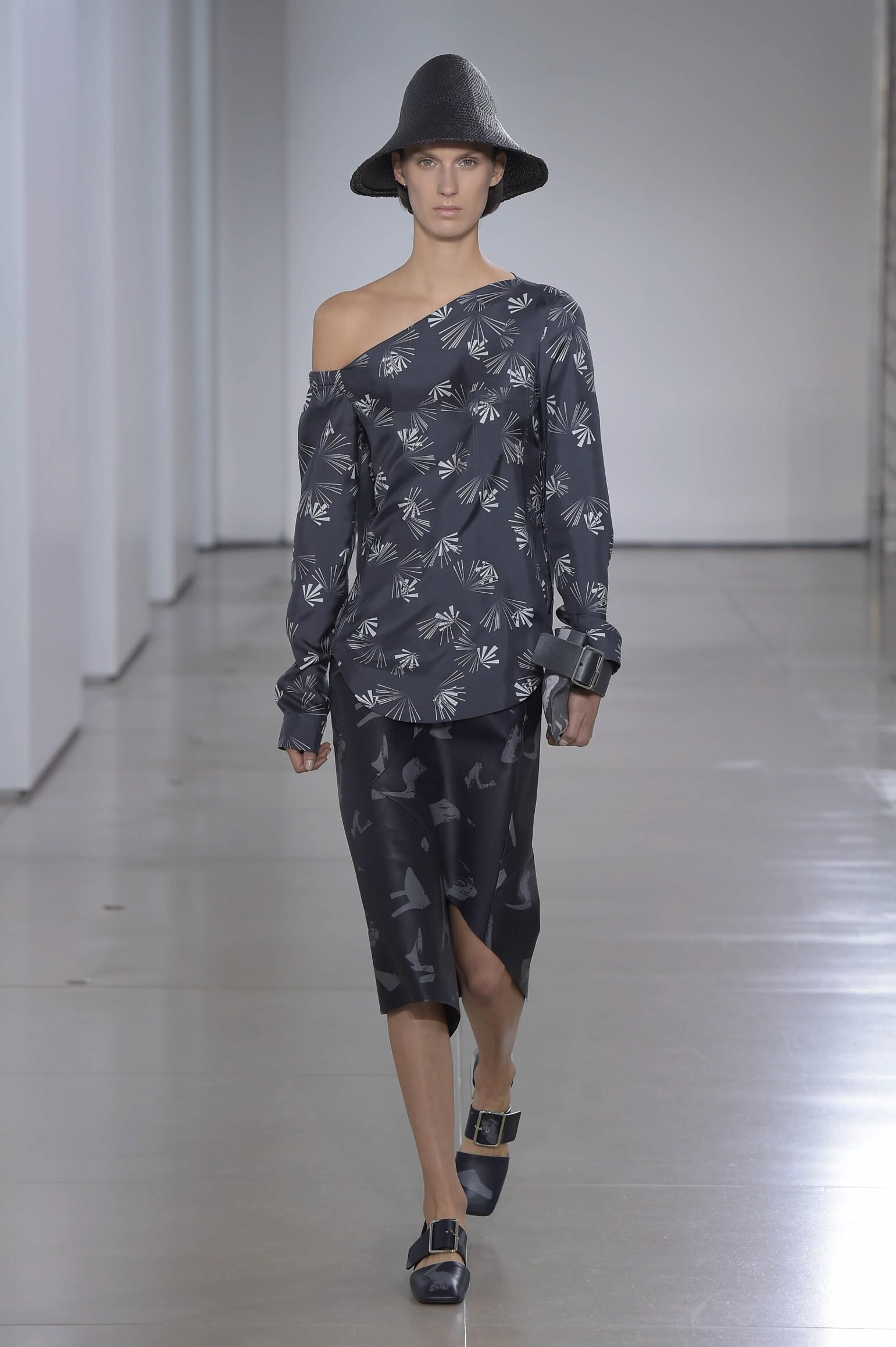 Catwalk Jil Sander Woman Fashion Show Summer 2016