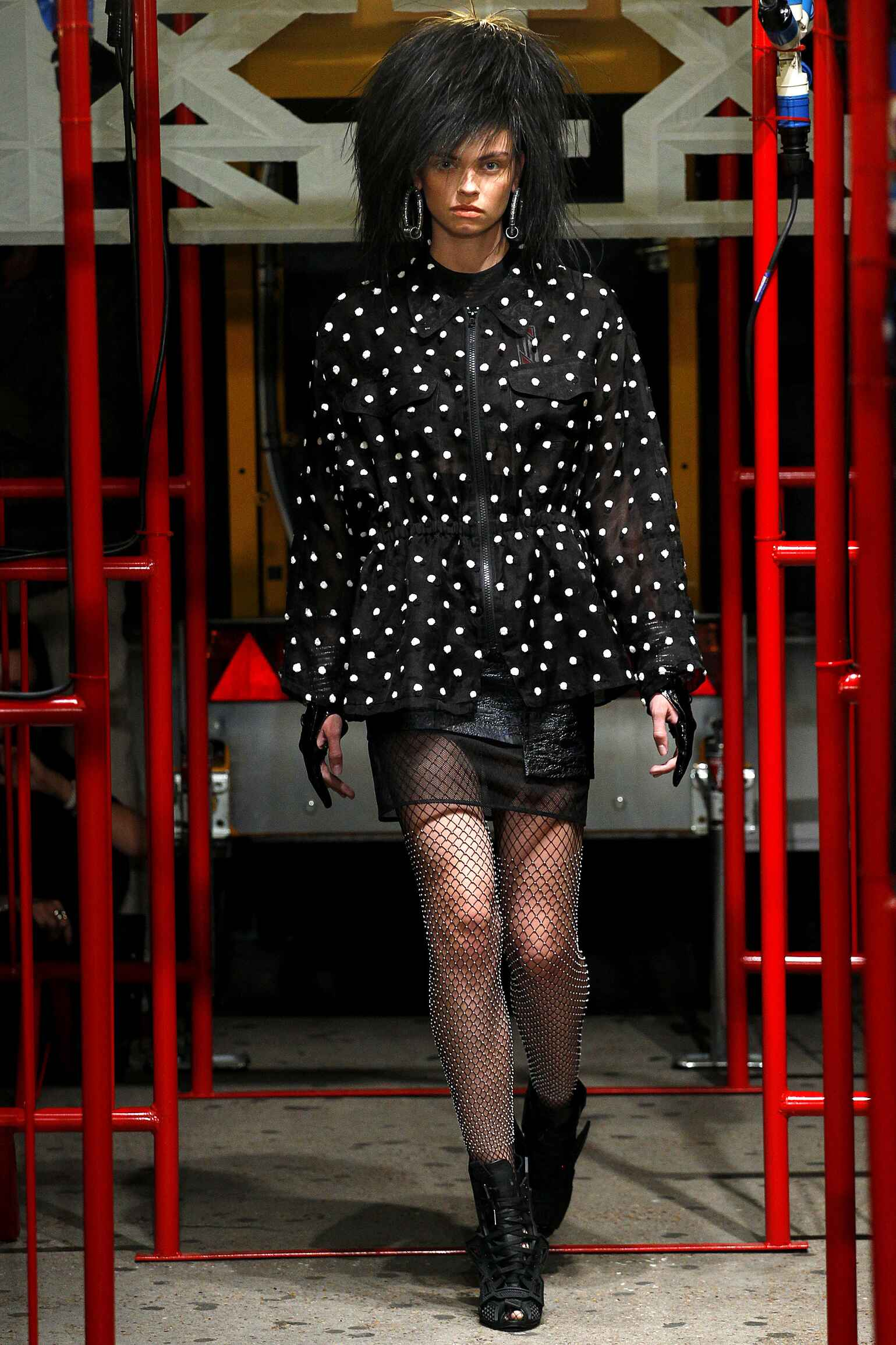 Catwalk KTZ Spring Summer 2016 Women's Collection London Fashion Week