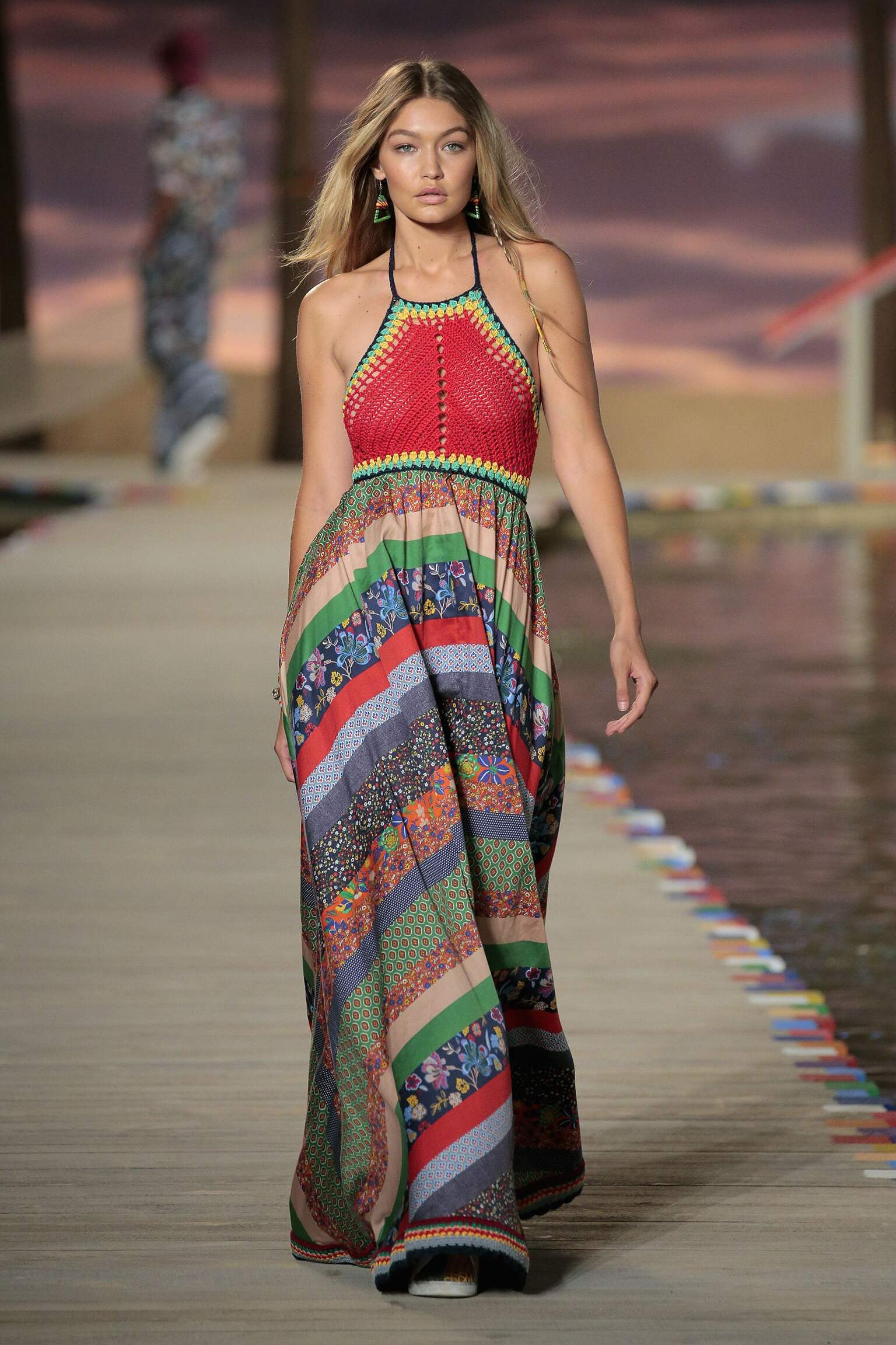 Catwalk Tommy Hilfiger Woman Fashion Show Summer 2016 New York
