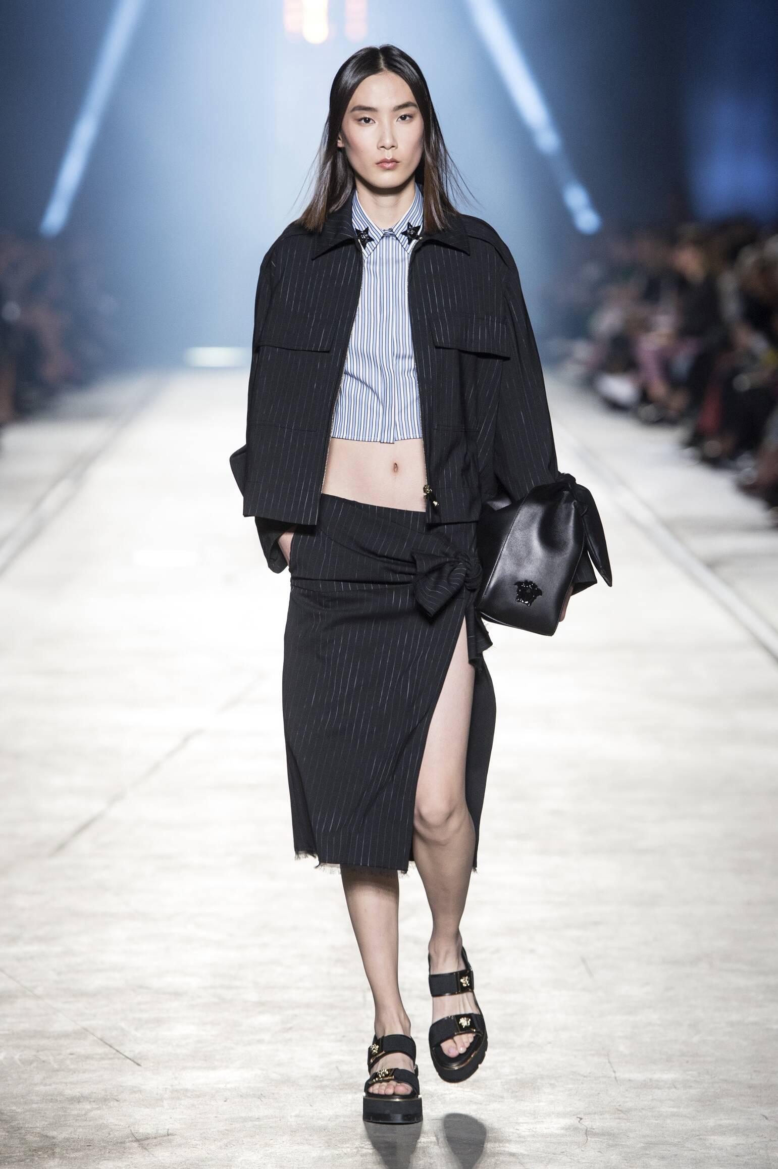 Catwalk Versace Summer 2016