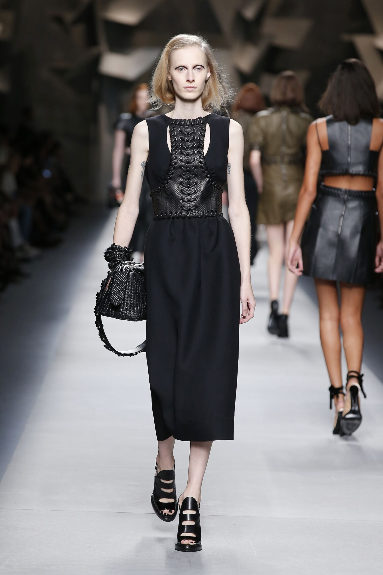 Fashion 2016 Catwalk Fendi Summer