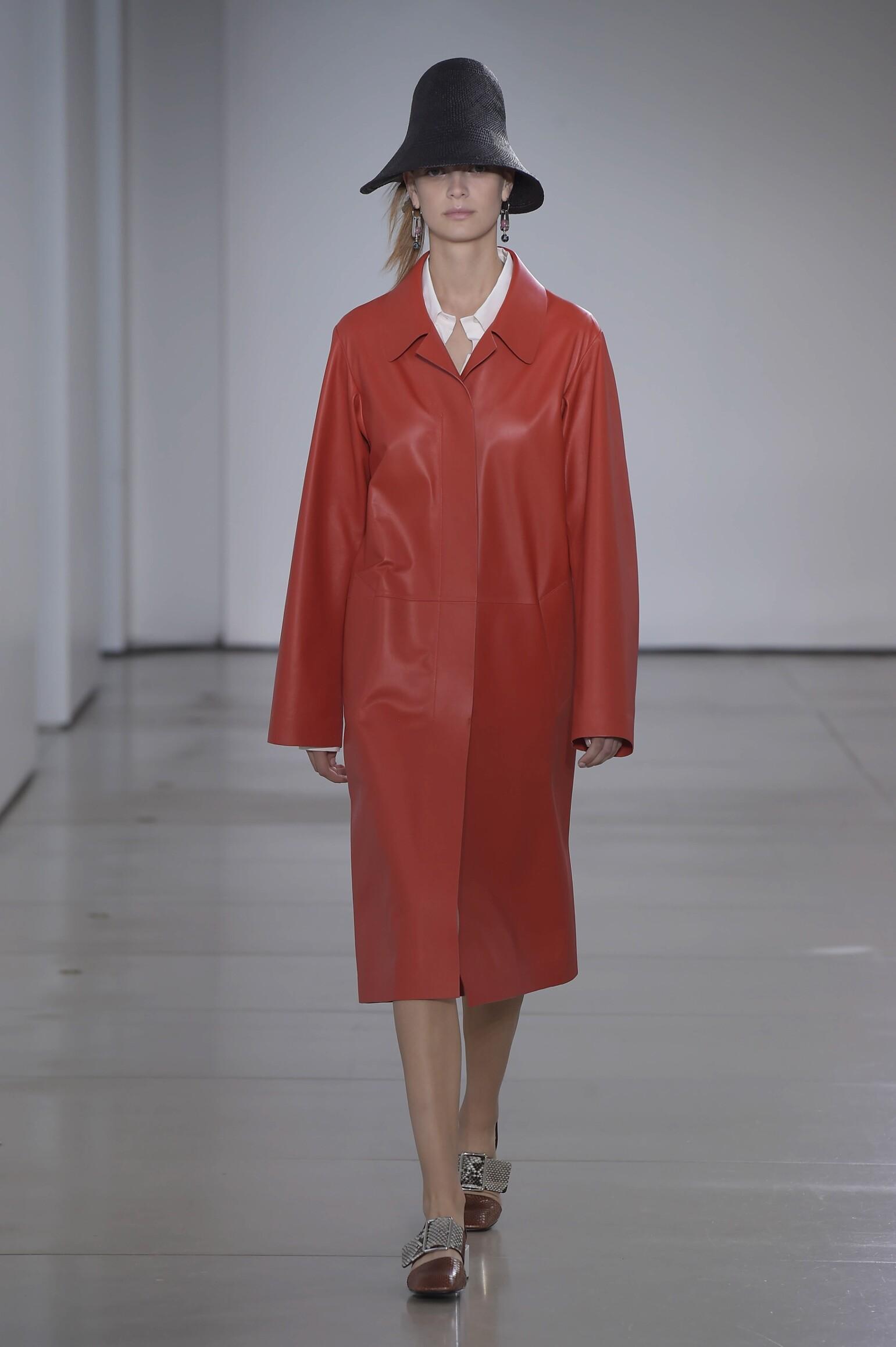 Fashion Model Jil Sander Catwalk
