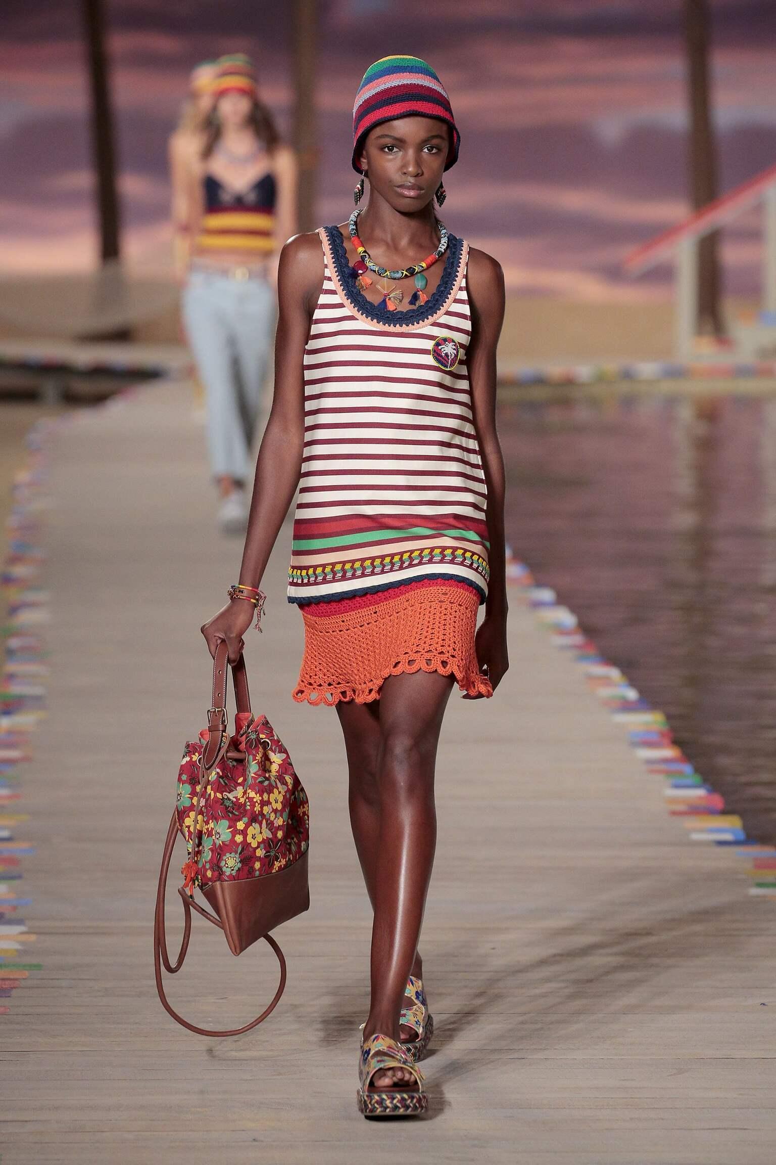 Fashion Model Tommy Hilfiger Catwalk