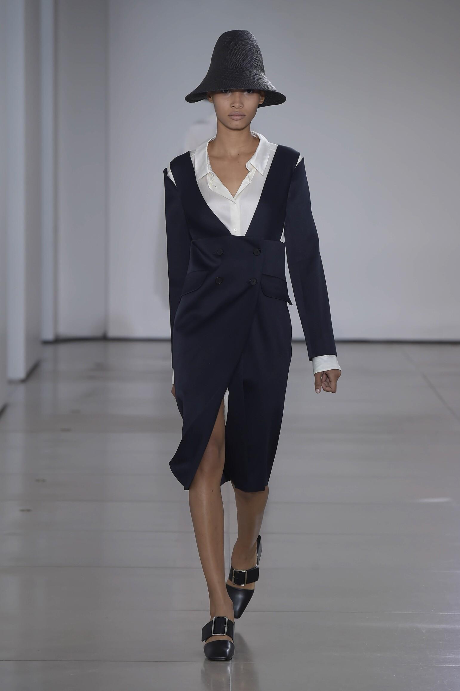 Fashion Woman Model Jil Sander Catwalk