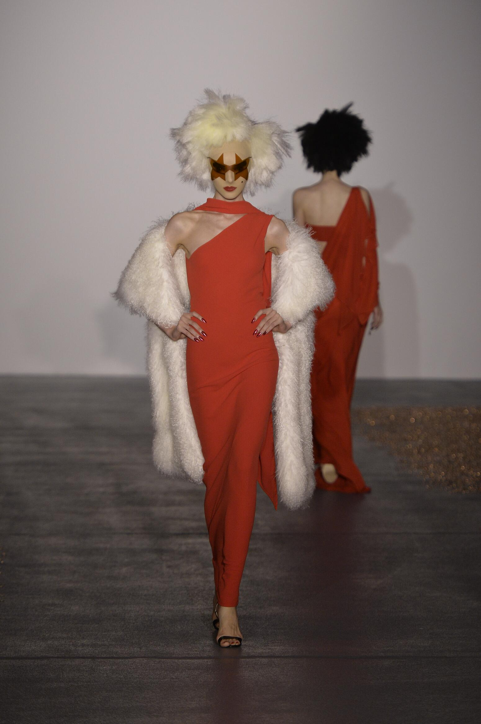 Gareth Pugh Collection Catwalk