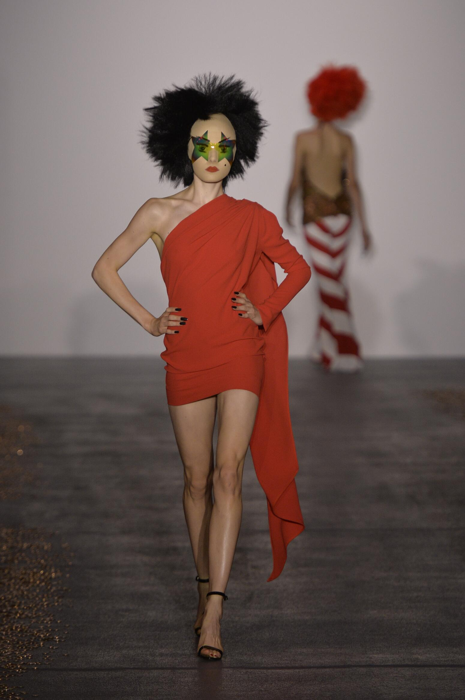 Gareth Pugh Collection Woman 2016