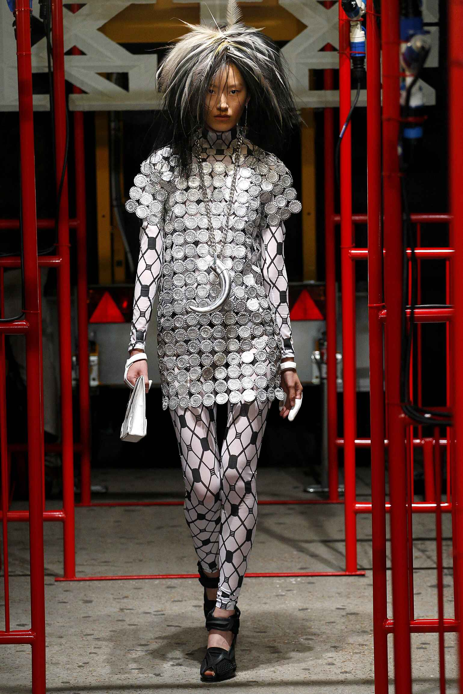 KTZ Spring Summer 2016 Womenswear Collection London Fashion Week Fashion Show