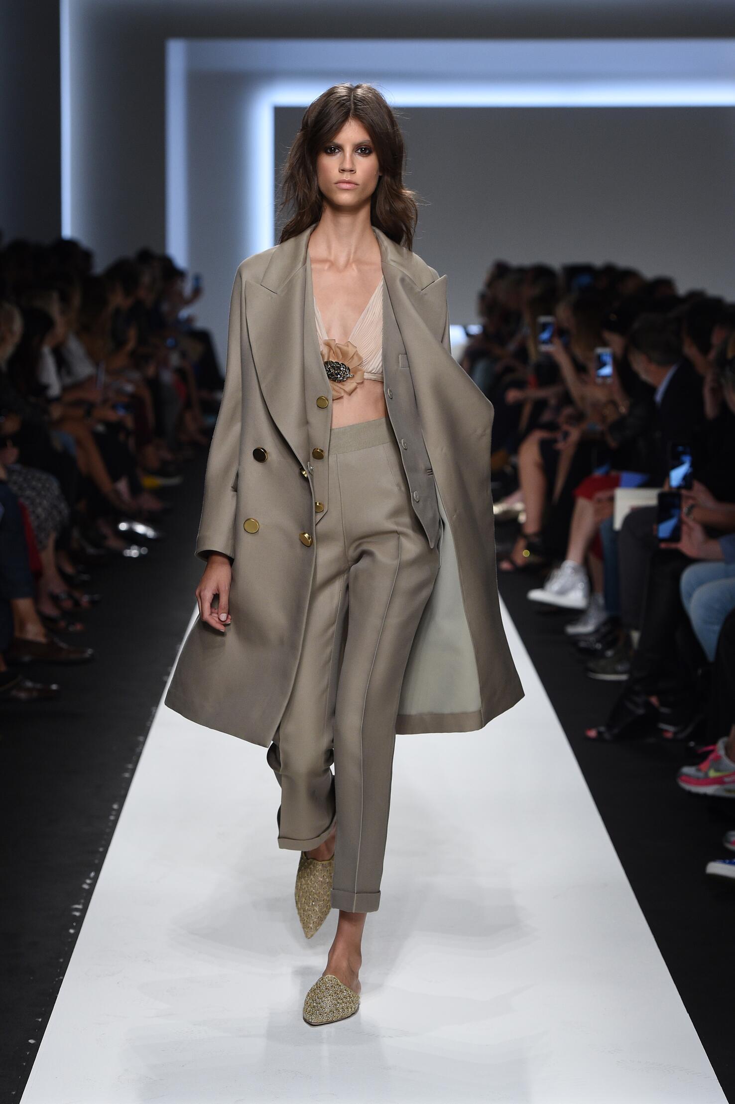 Models Fashion Show Ermanno Scervino