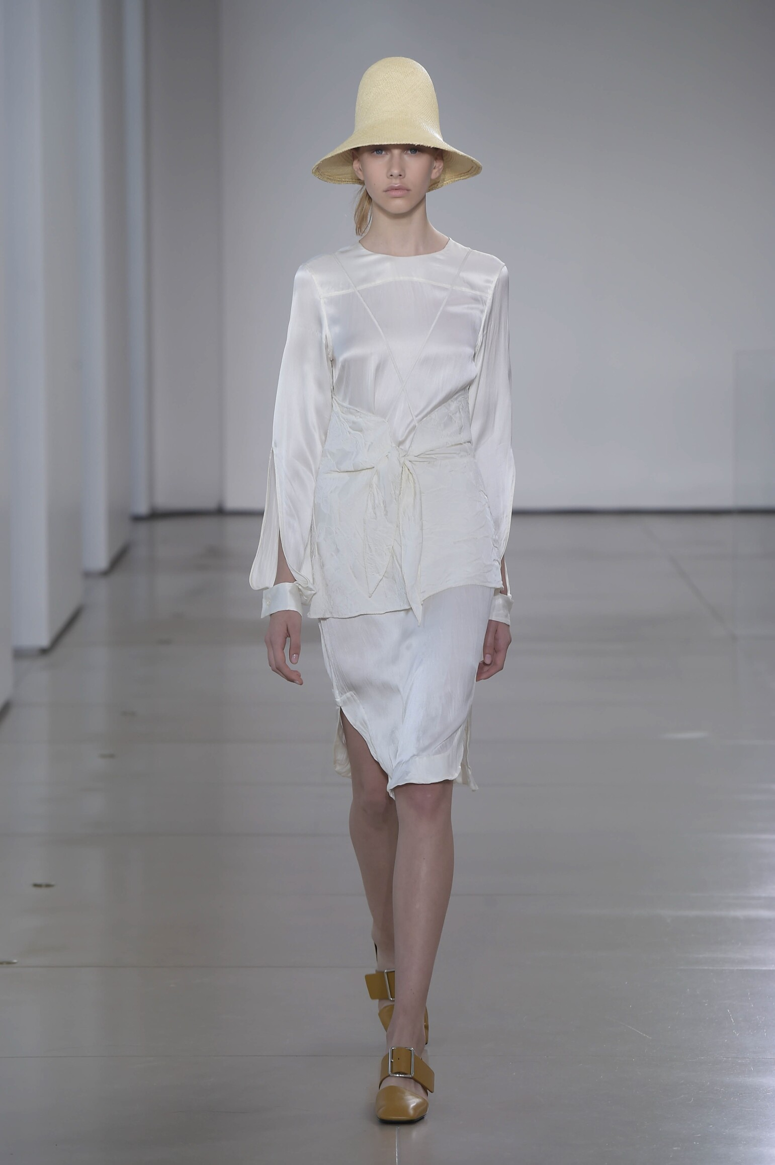 Models Fashion Show Jil Sander