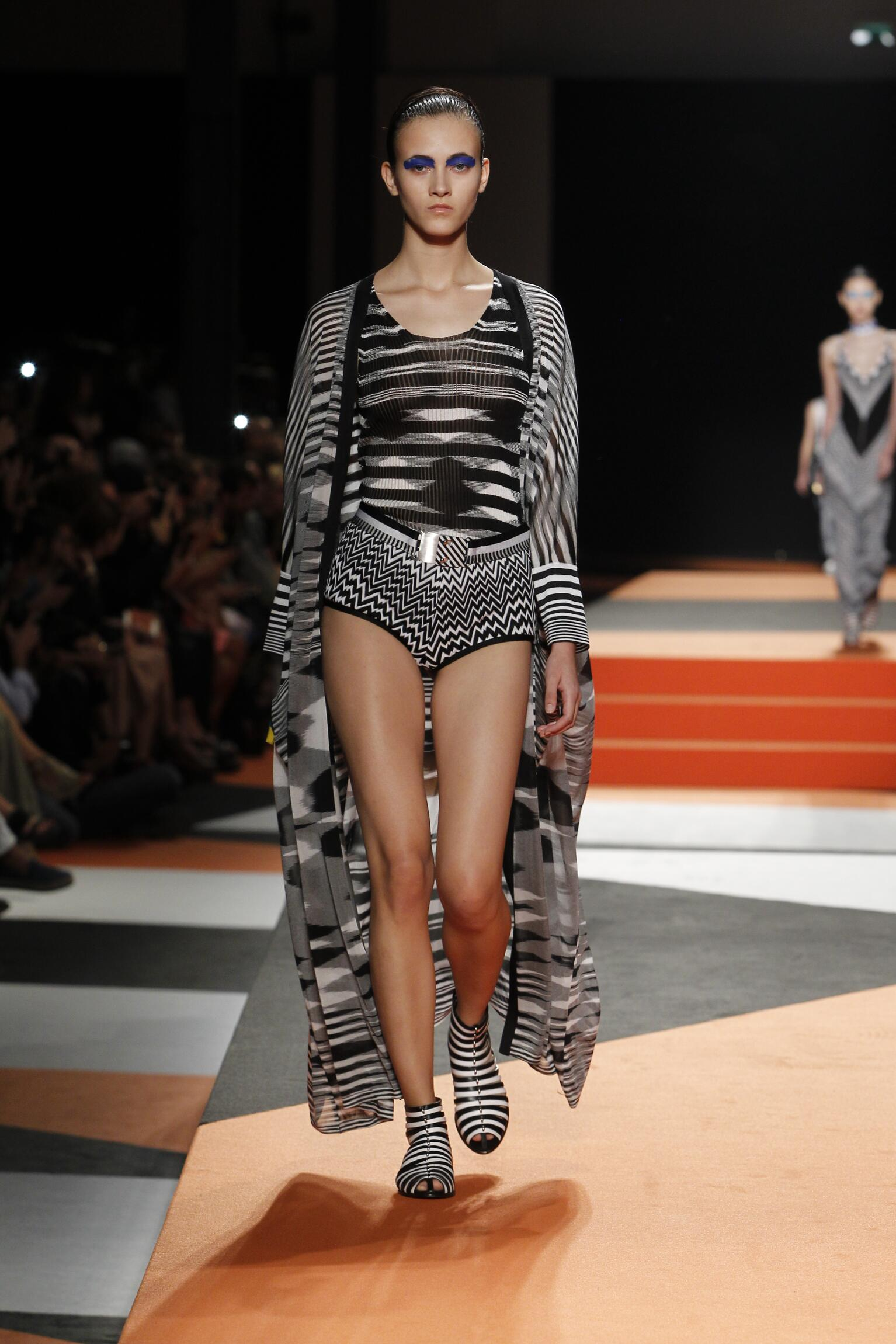 Models Fashion Show Missoni
