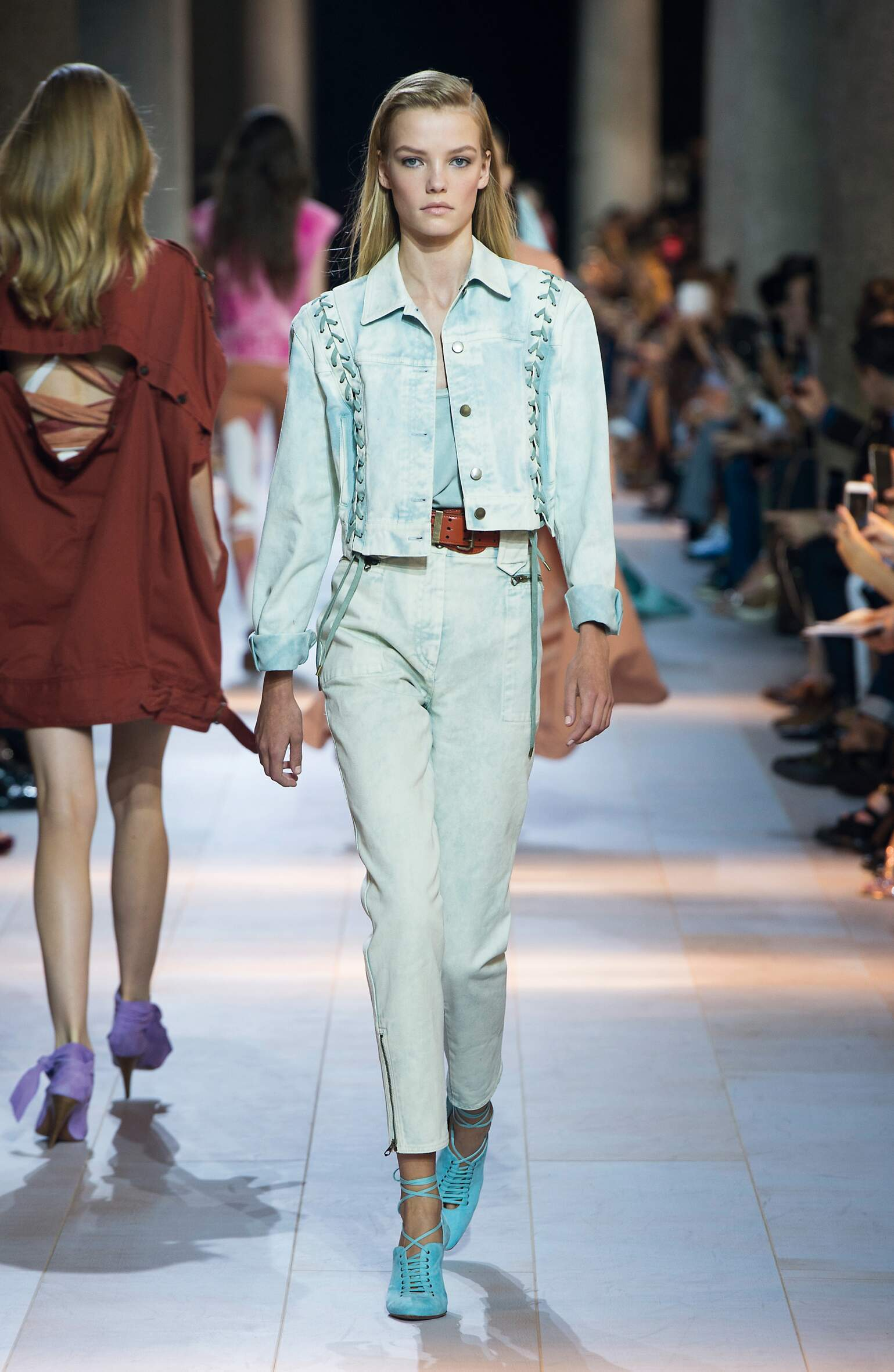 Models Fashion Show Roberto Cavalli