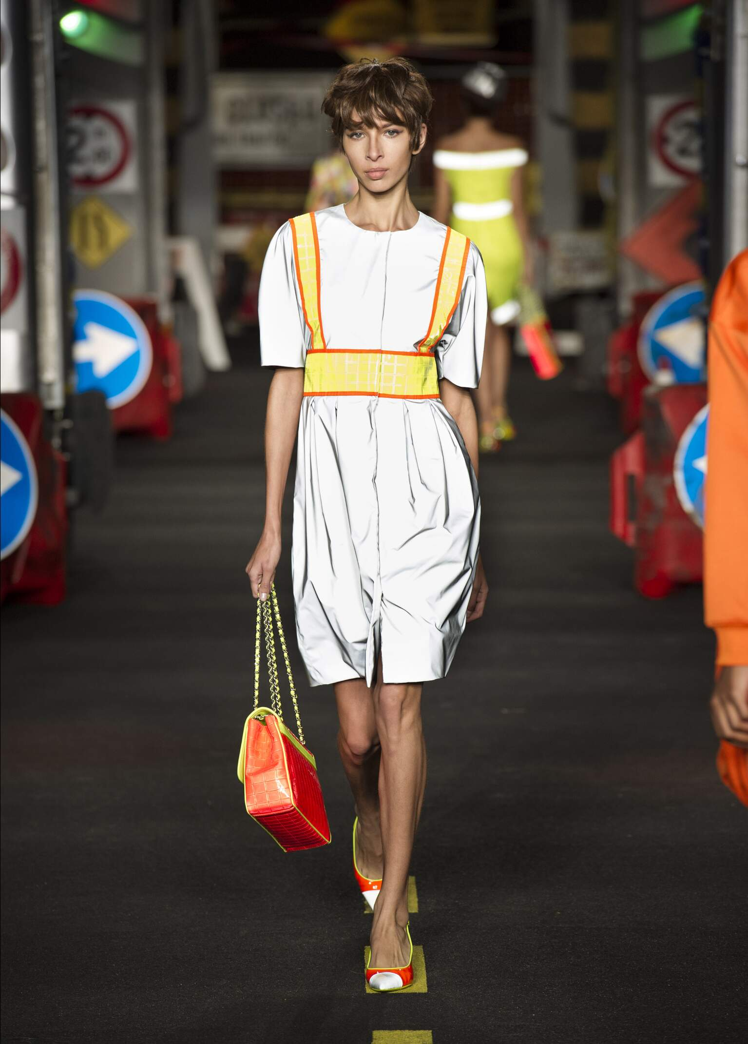 Moschino Spring Summer 2016 Womens Collection Milan Fashion Week