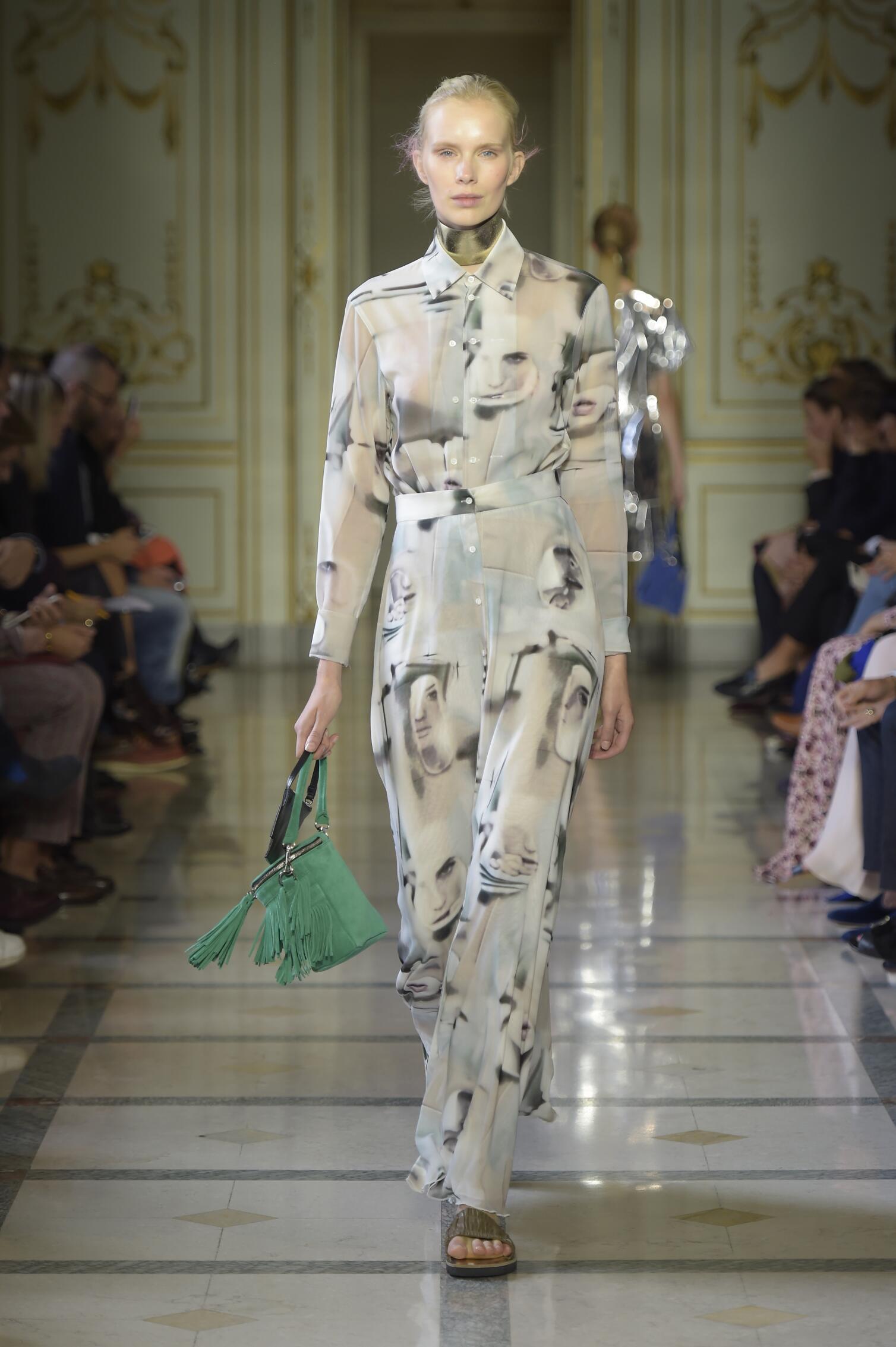 Runway Andrea Incontri Spring Summer 2016 Women's Collection Milan Fashion Week