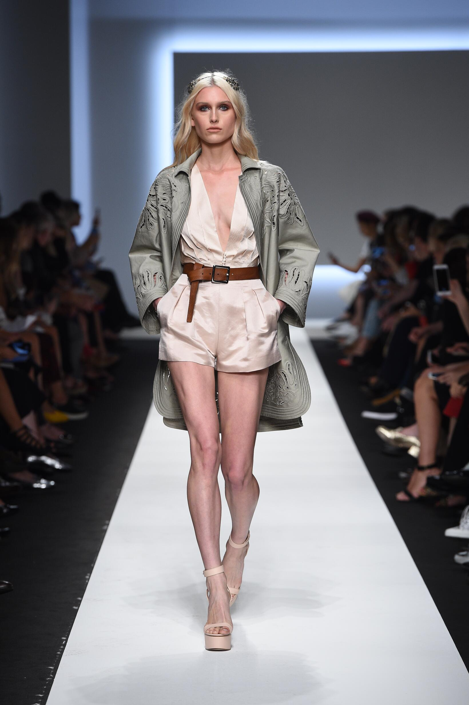 Runway Ermanno Scervino Spring Summer 2016 Women's Collection Milan Fashion Week