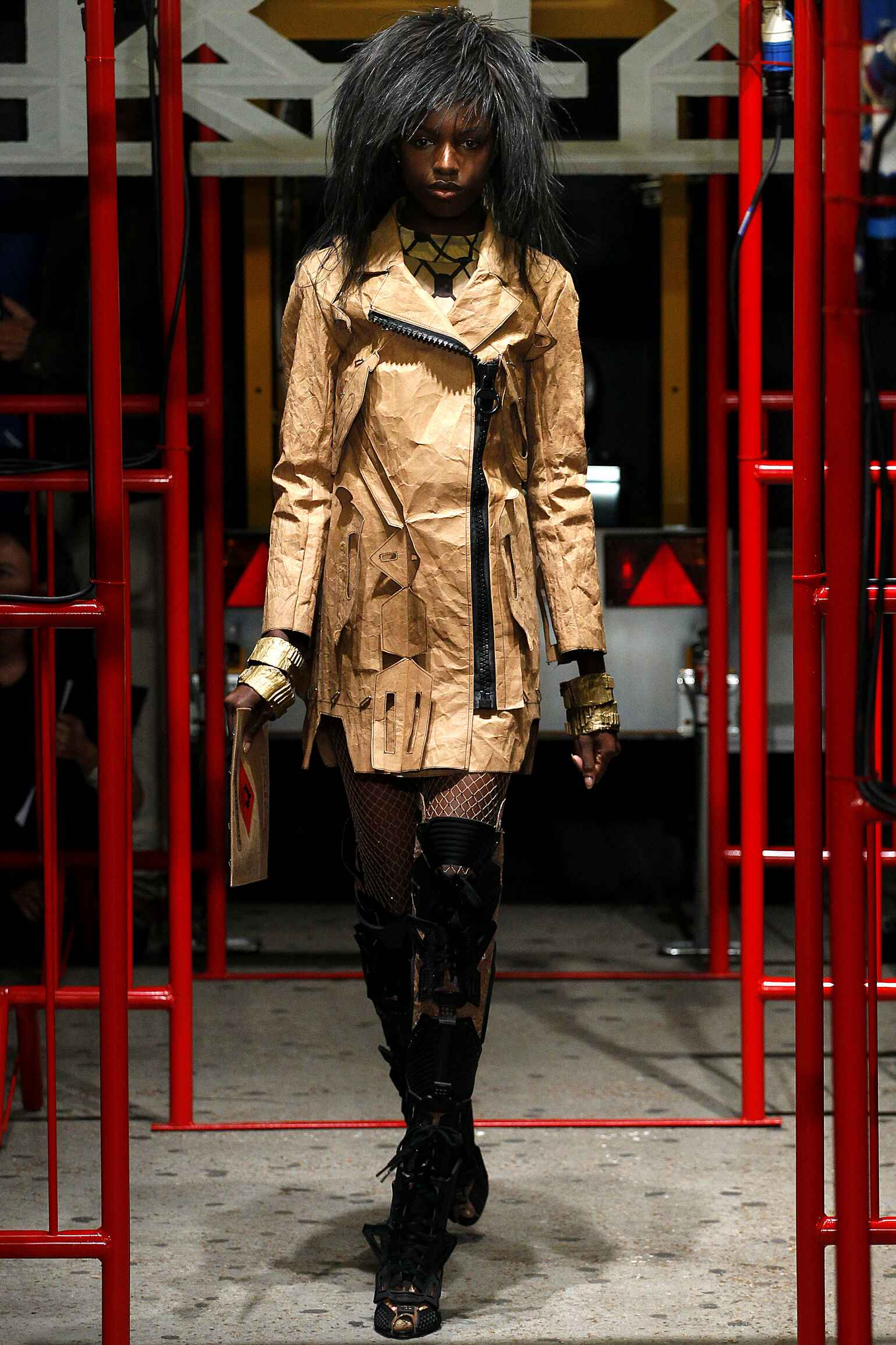 Runway KTZ Spring Summer 2016 Women's Collection London Fashion Week