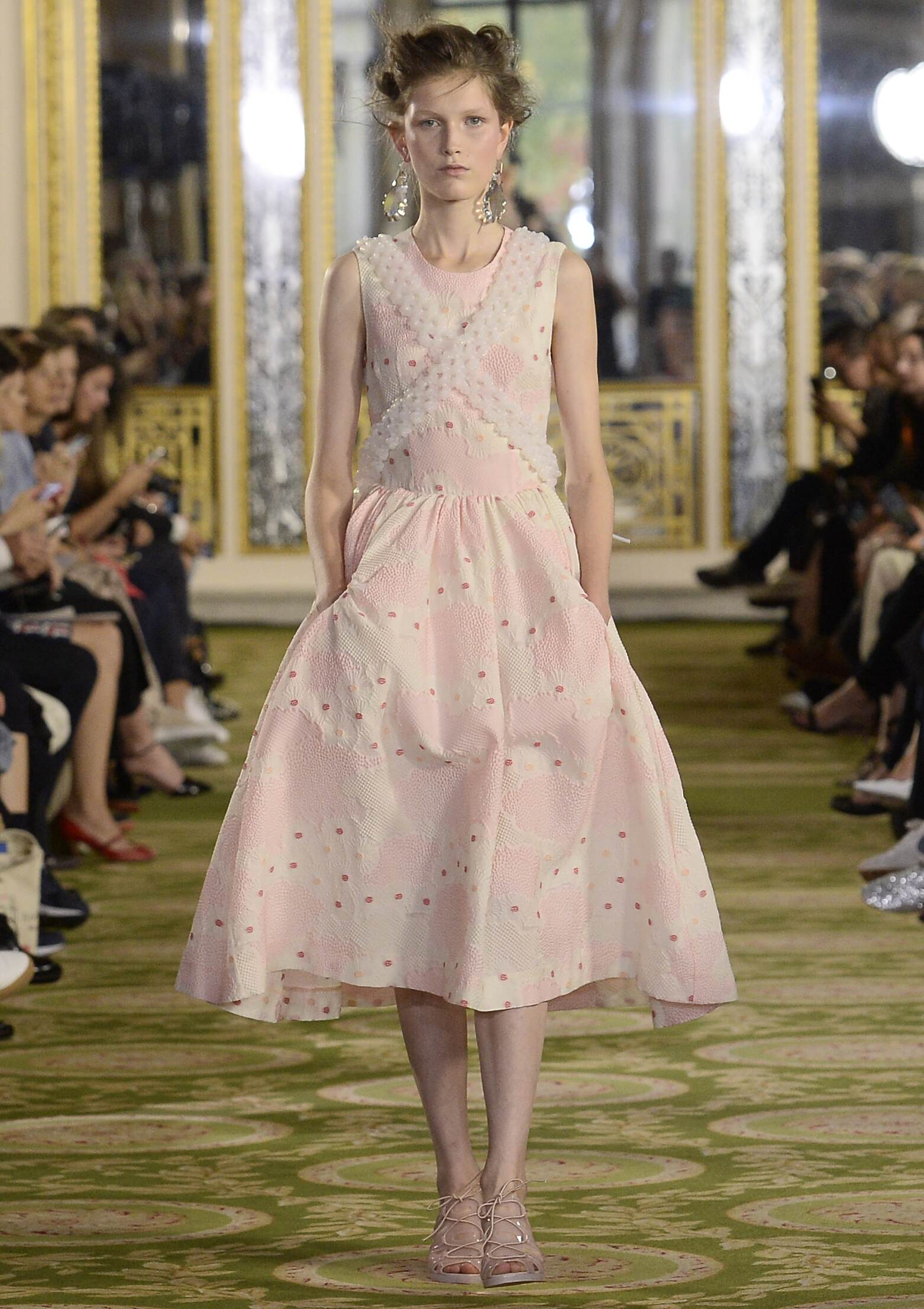 Simone Rocha Spring Summer 2016 Womenswear Collection London Fashion Week Fashion Show