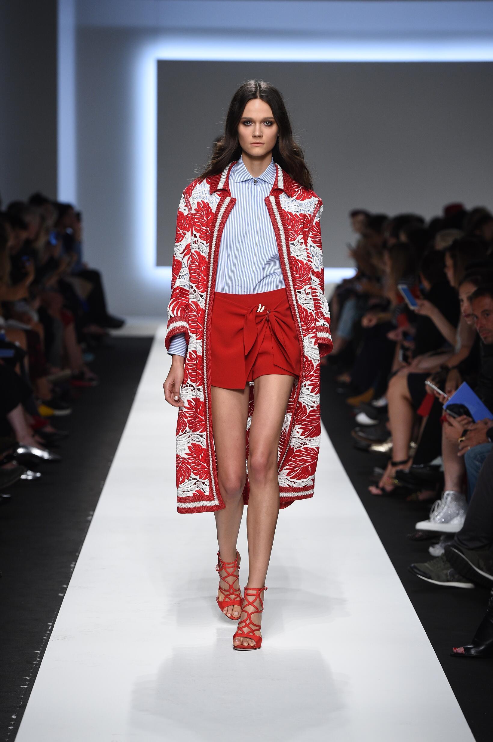 Spring Fashion 2016 Ermanno Scervino