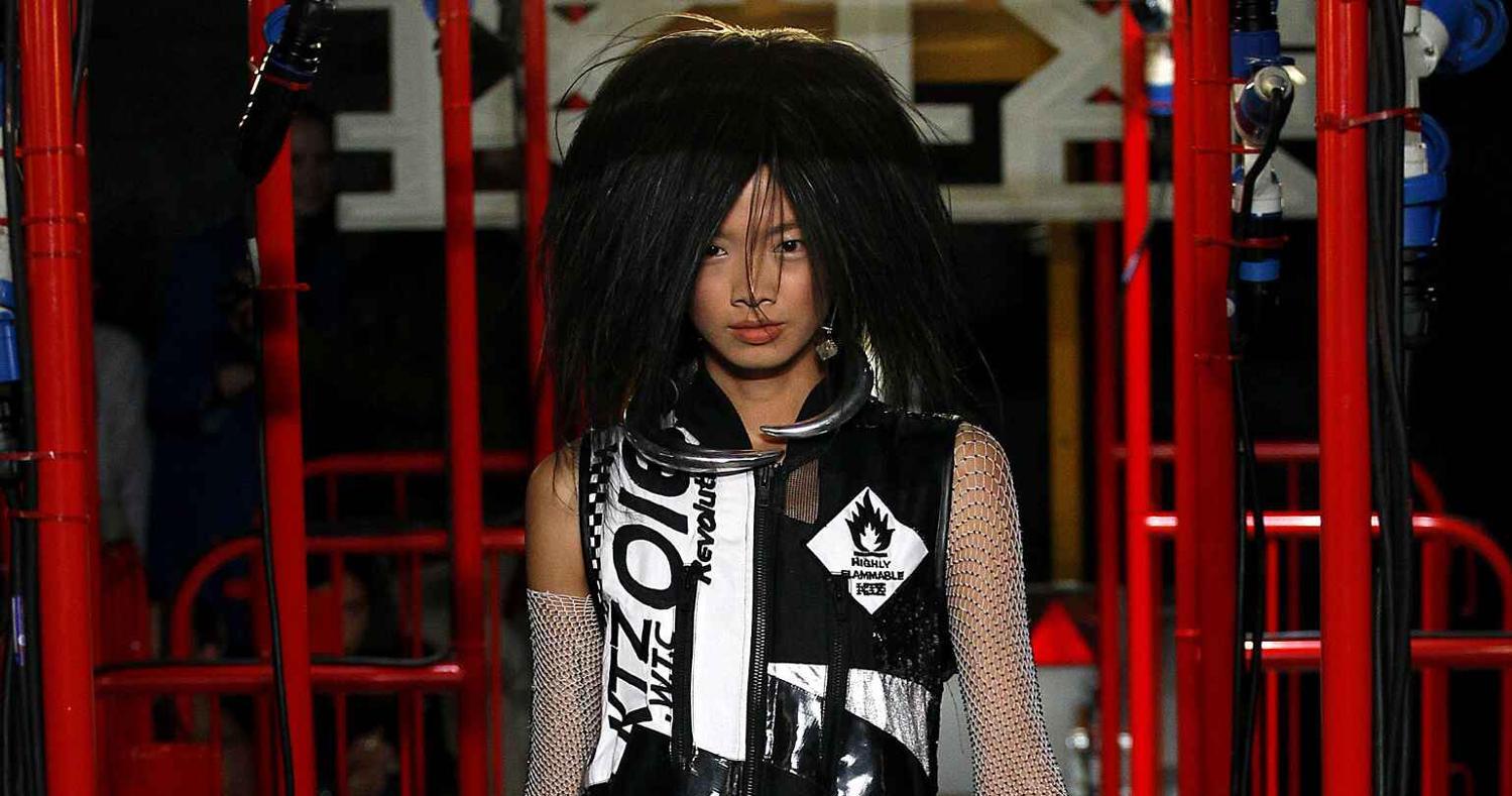 Spring Fashion Woman KTZ Collection 2016
