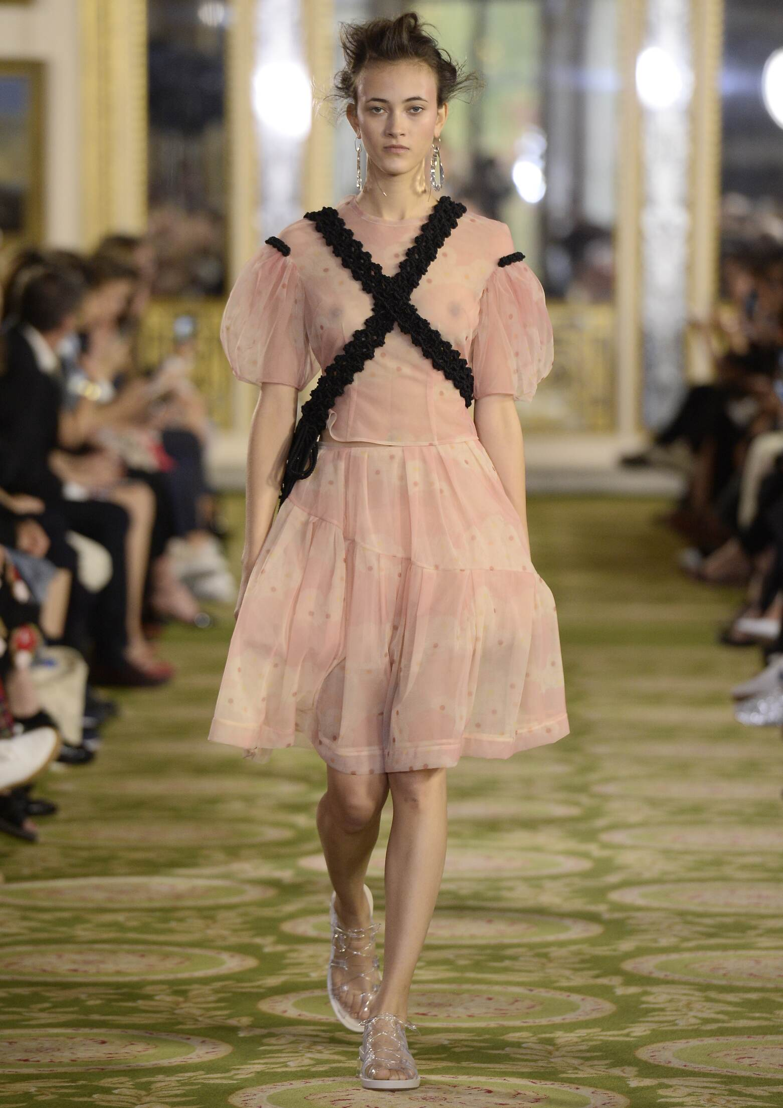 Spring Fashion Woman Simone Rocha Collection