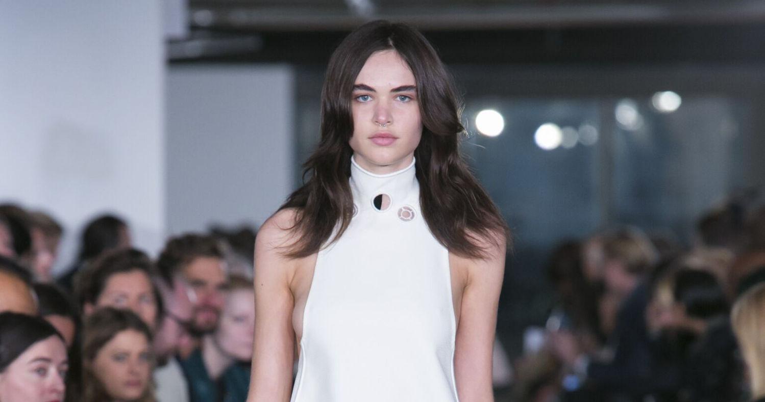 Spring Fashion Woman Thomas Tait Collection 2016