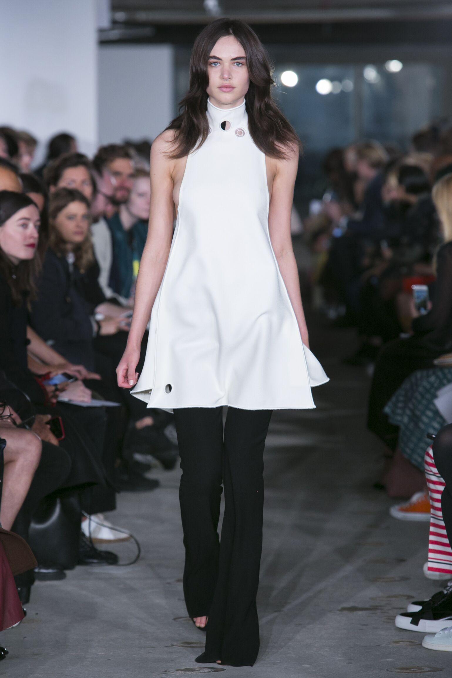 Spring Fashion Woman Thomas Tait Collection