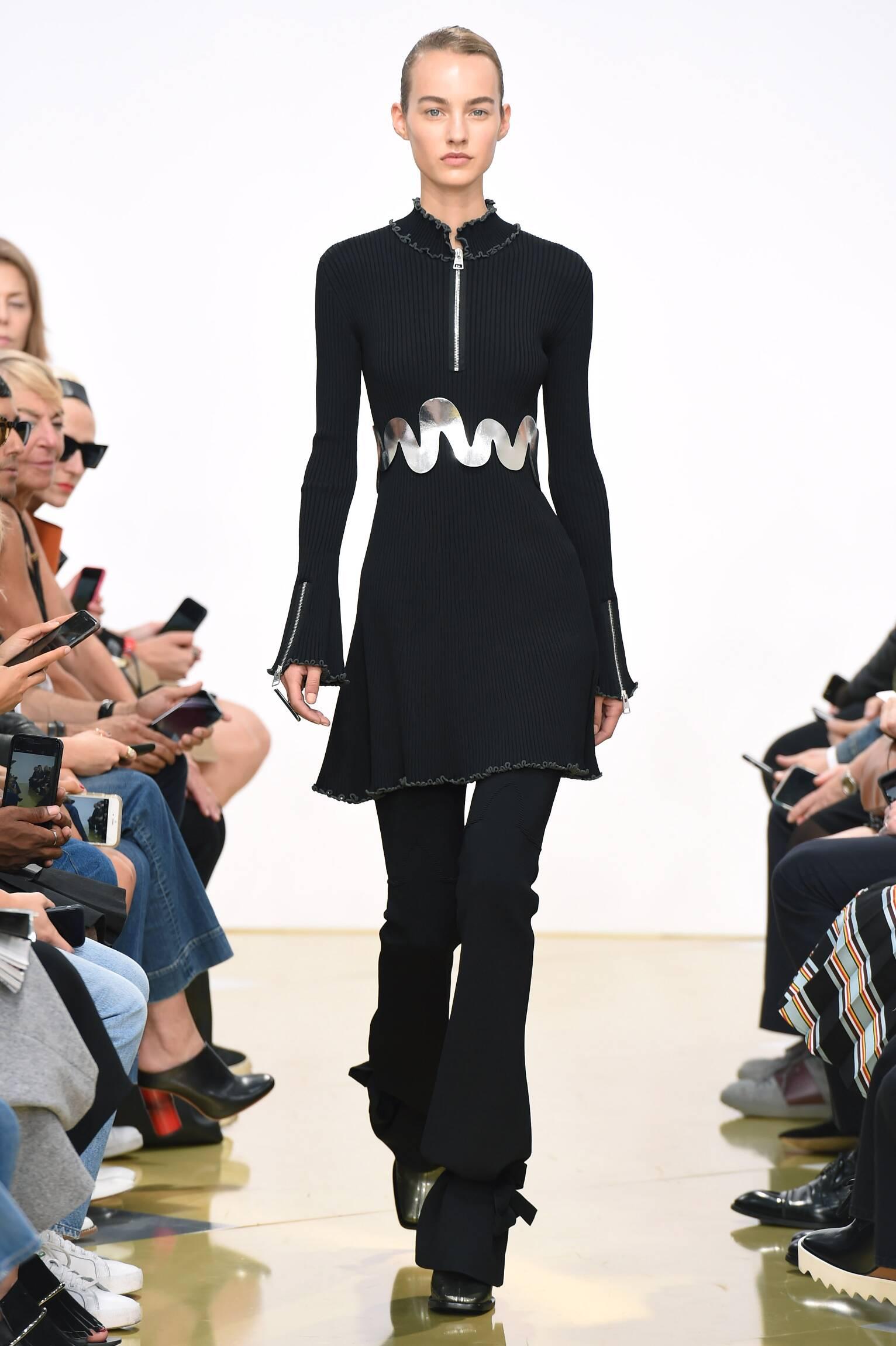 Spring J.W. Anderson Collection Fashion Women Model