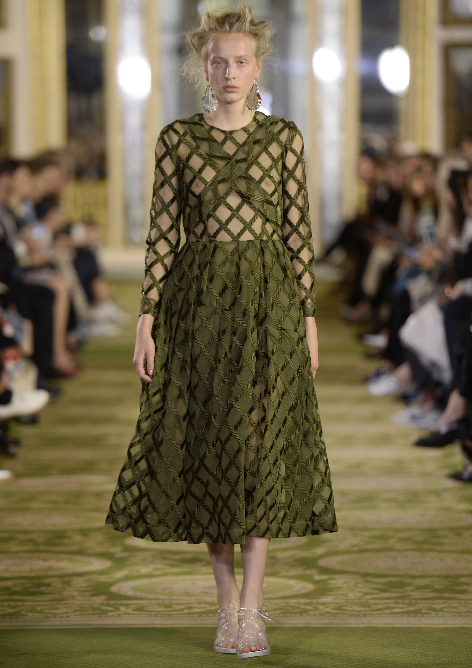 Spring Simone Rocha Collection Fashion Women Model