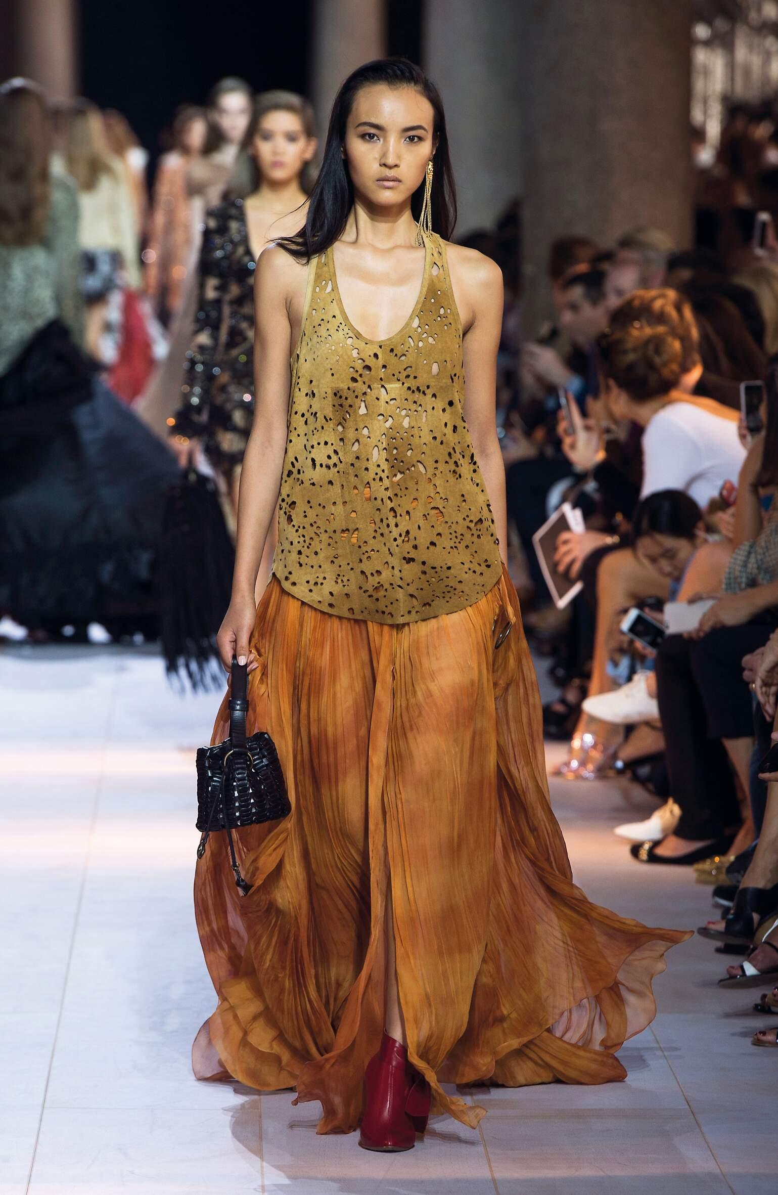 Spring Summer 2016 Woman Milan Roberto Cavalli Collection