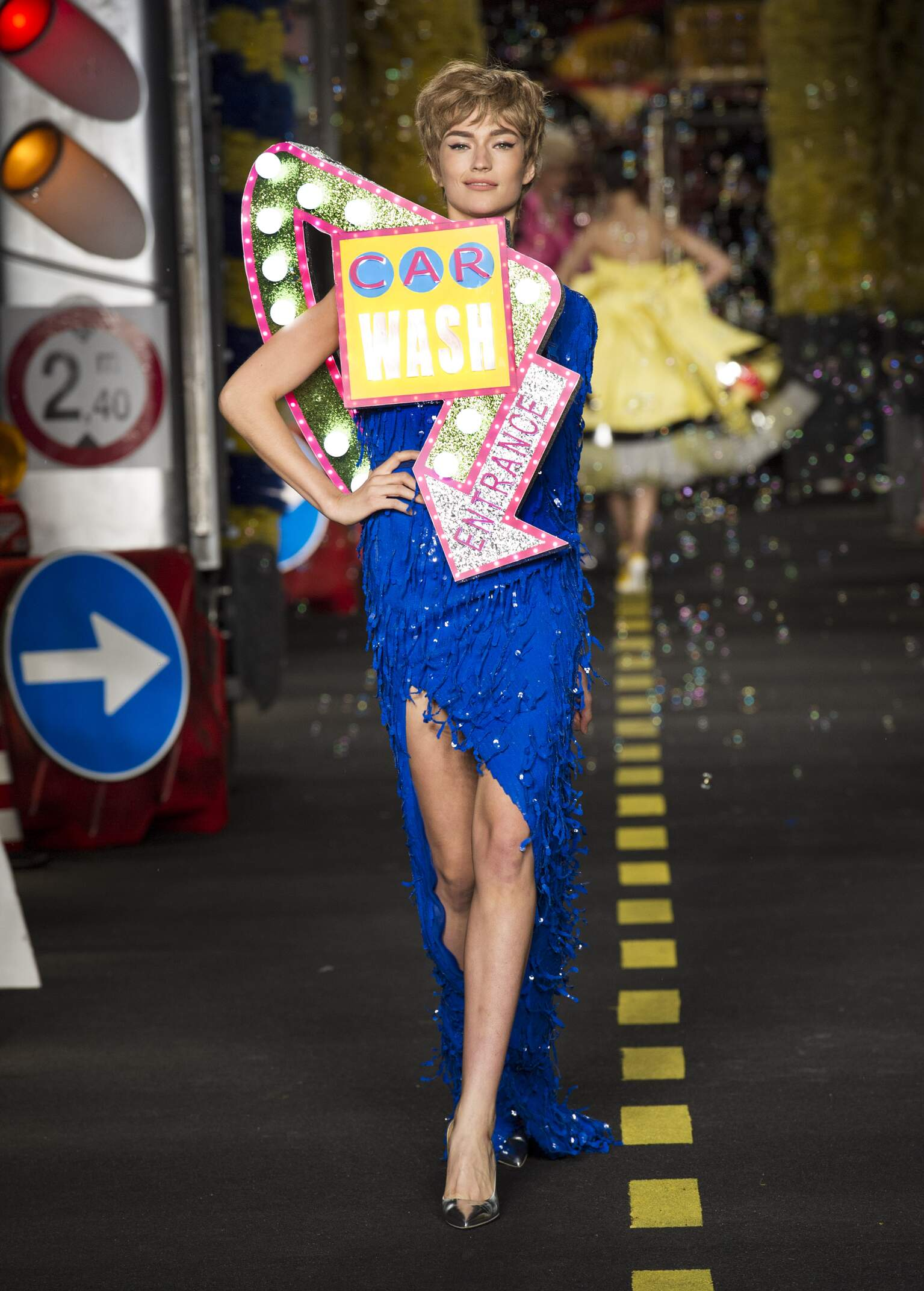 Spring Summer 2016 Womens Moschino Collection Milan