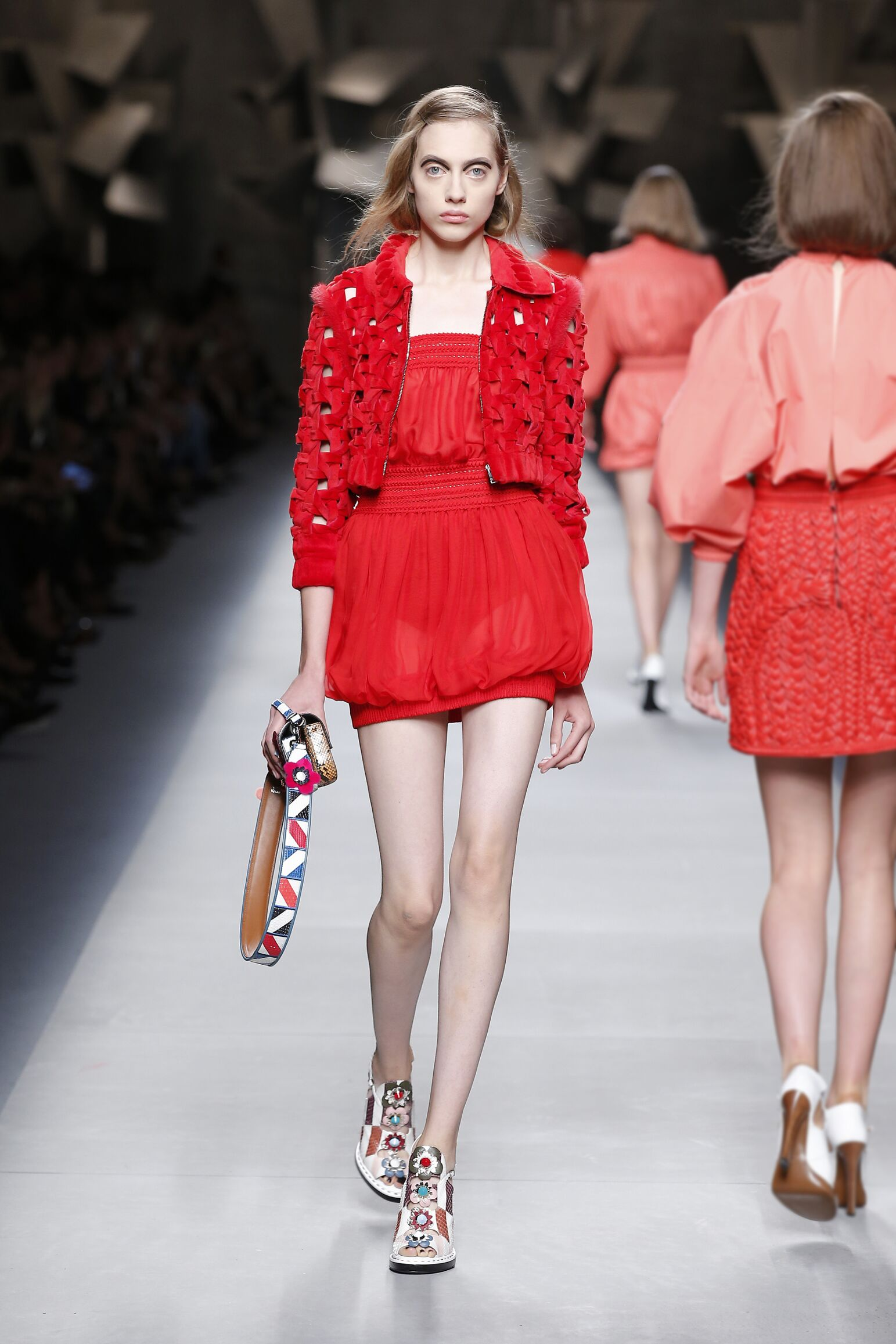 FENDI SPRING SUMMER 2016 WOMEN'S COLLECTION