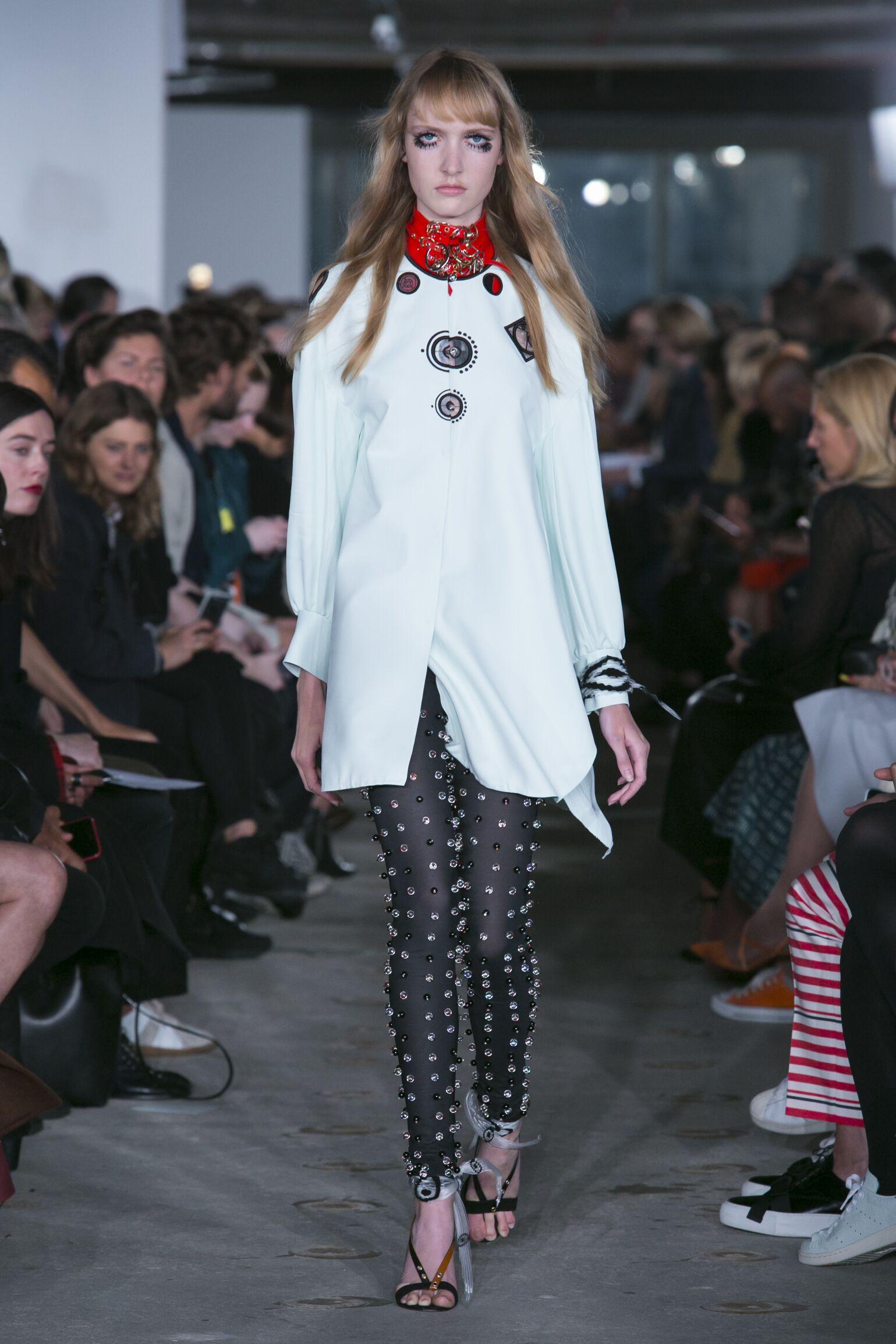 Thomas Tait Spring Summer 2016 Womenswear Collection London Fashion Week Fashion Show