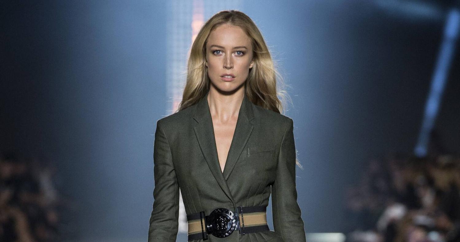 Versace Fashion Show SS 2016 Milan
