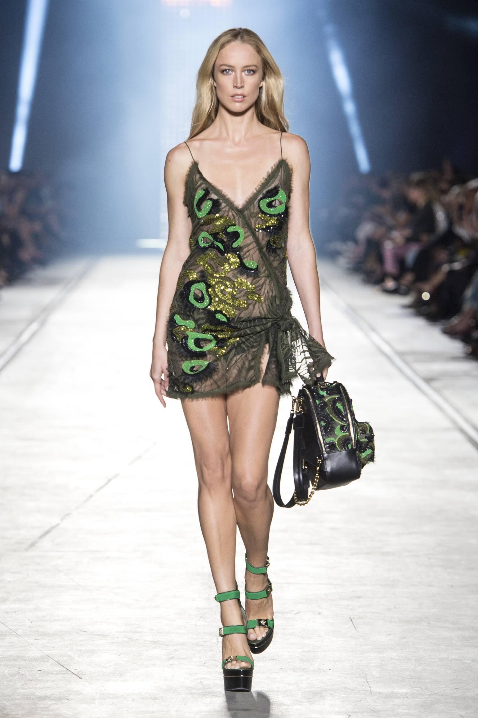 Versace Spring Summer 2016 Milan