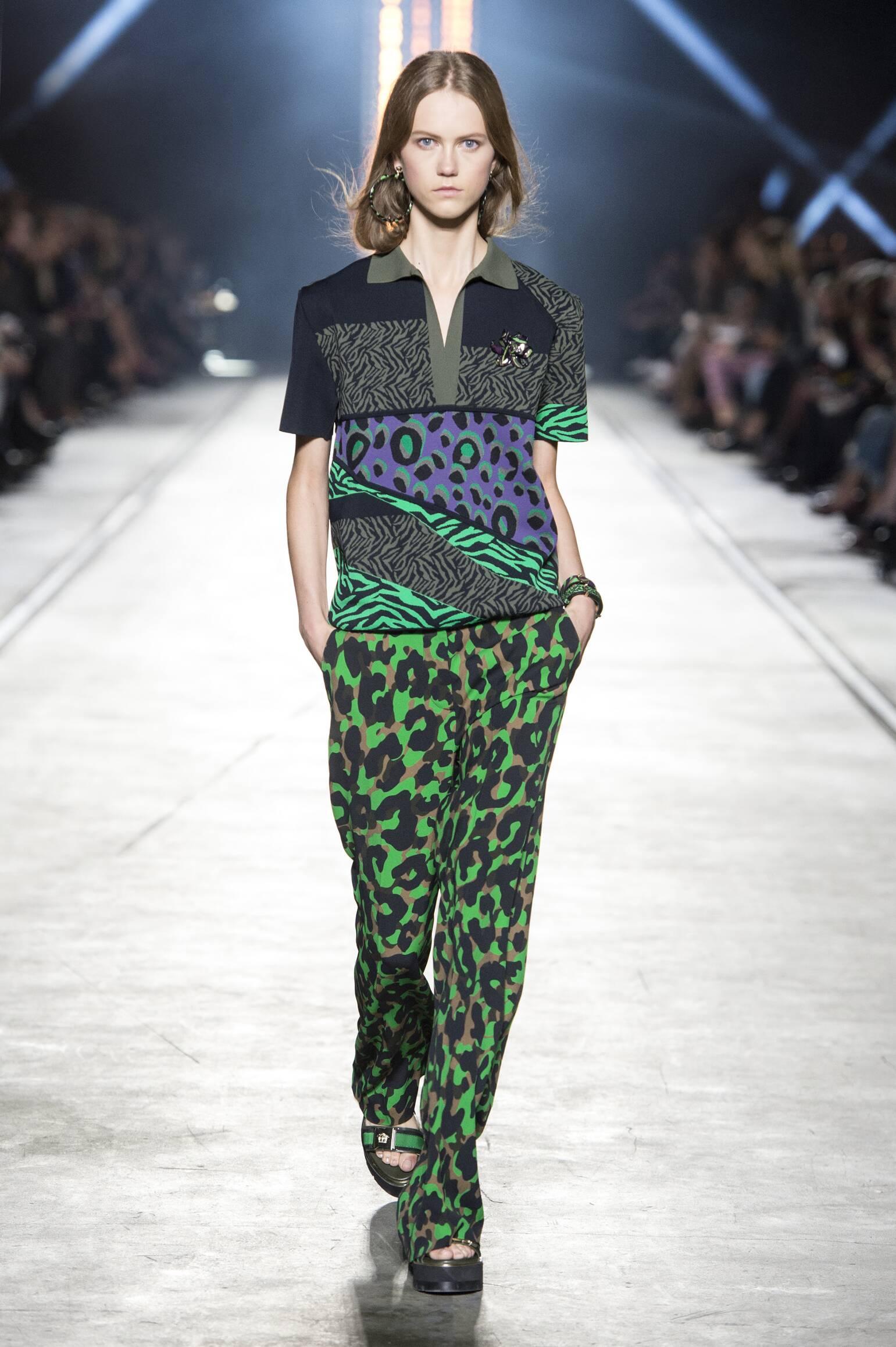 Versace Spring Summer 2016 Womens Collection Milan Fashion Week