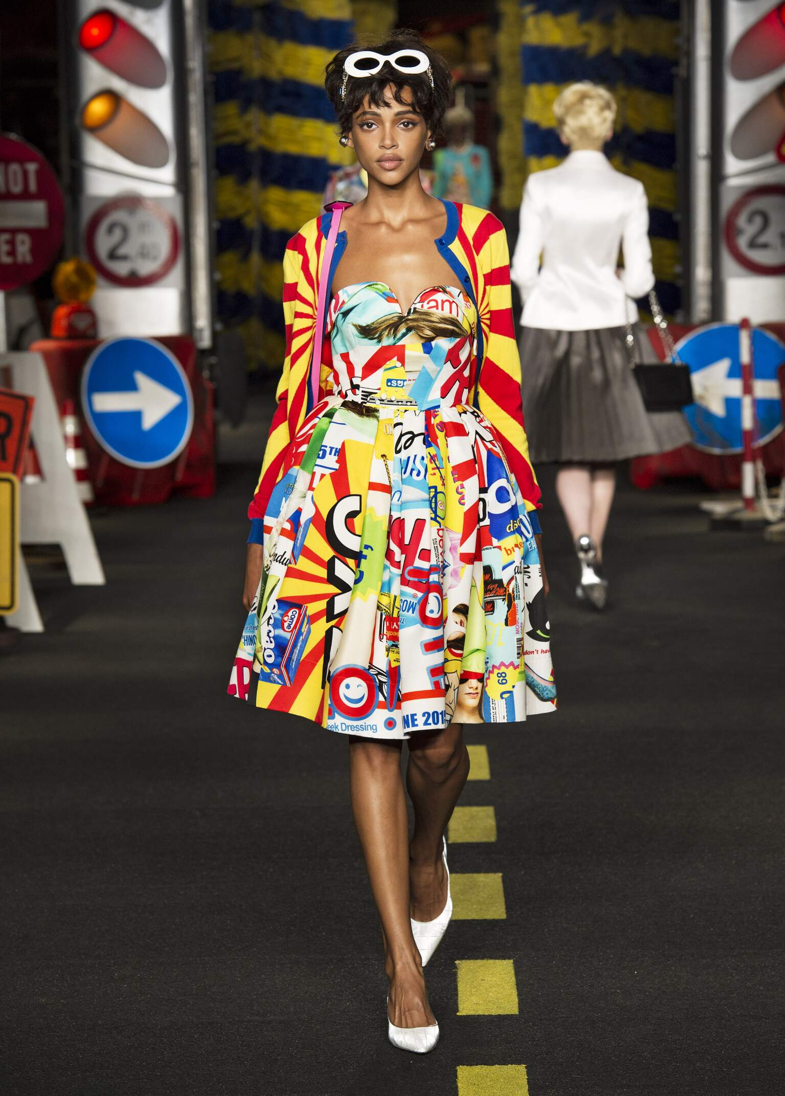 Womenswear Spring Summer Moschino 2016