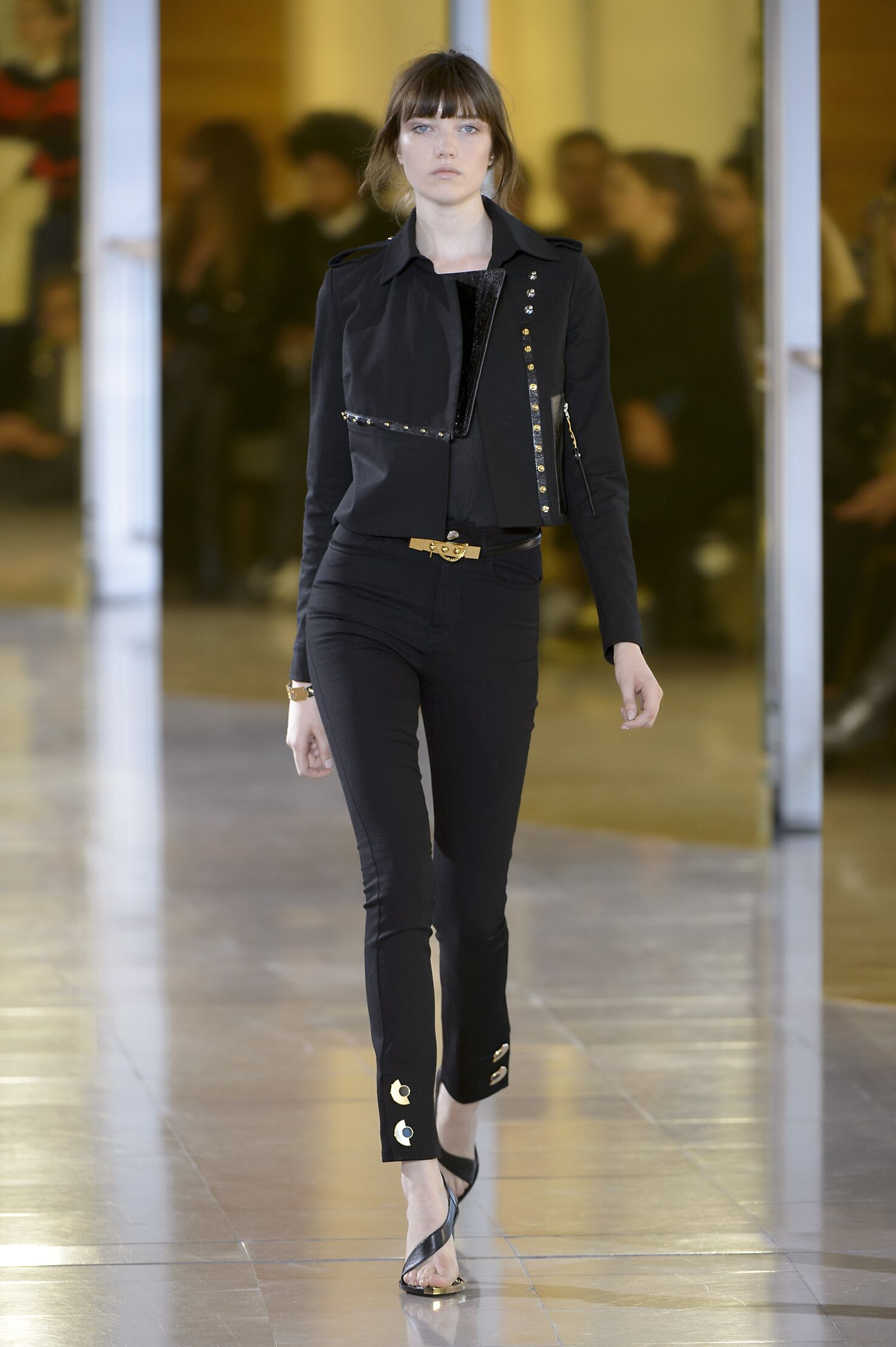 2016 Anthony Vaccarello Spring Catwalk