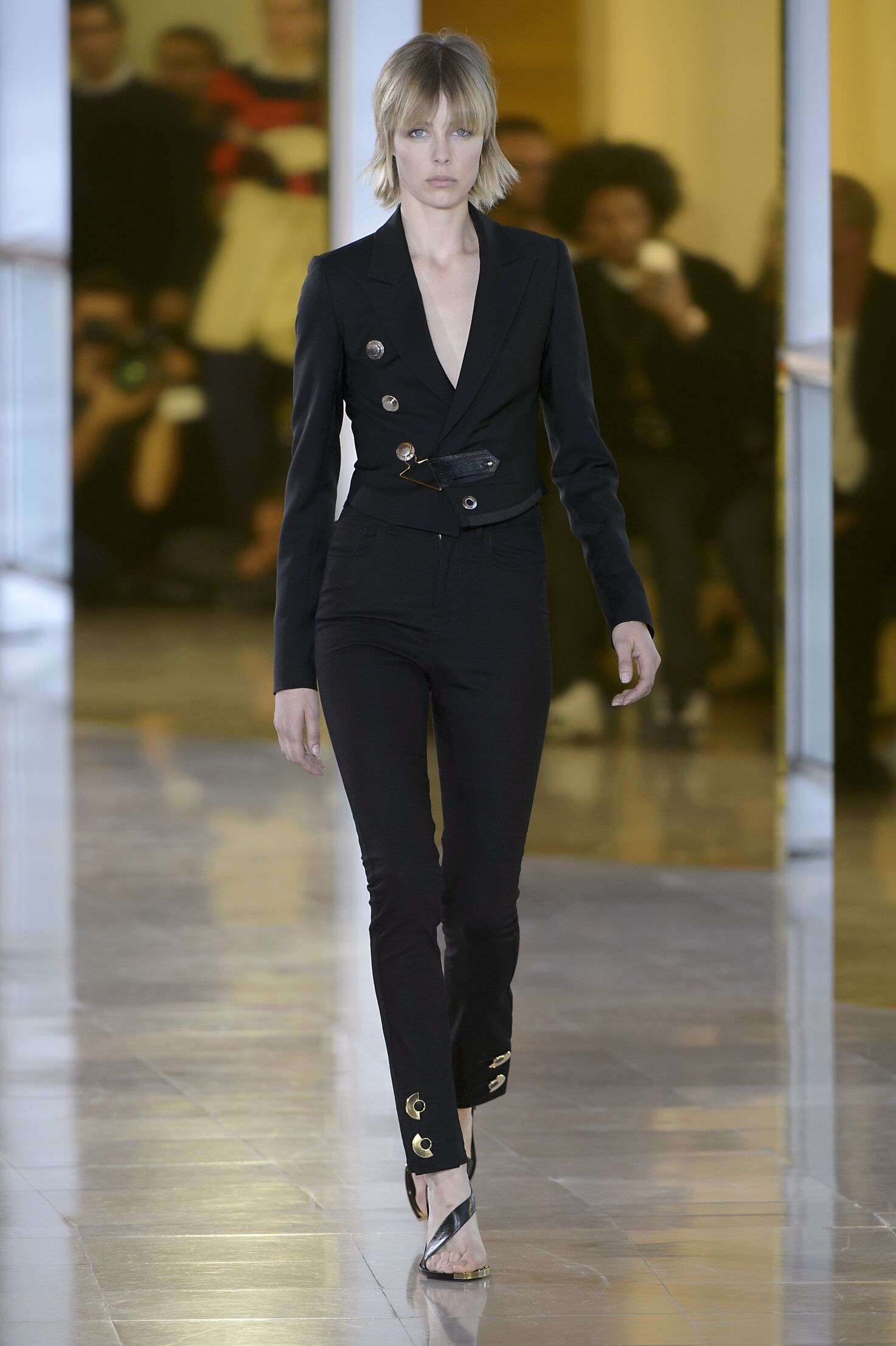 2016 Anthony Vaccarello Spring Summer