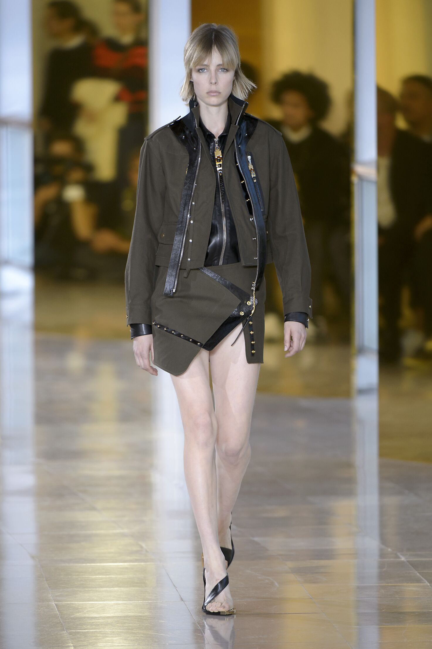 Anthony Vaccarello Fashion Show SS 2016