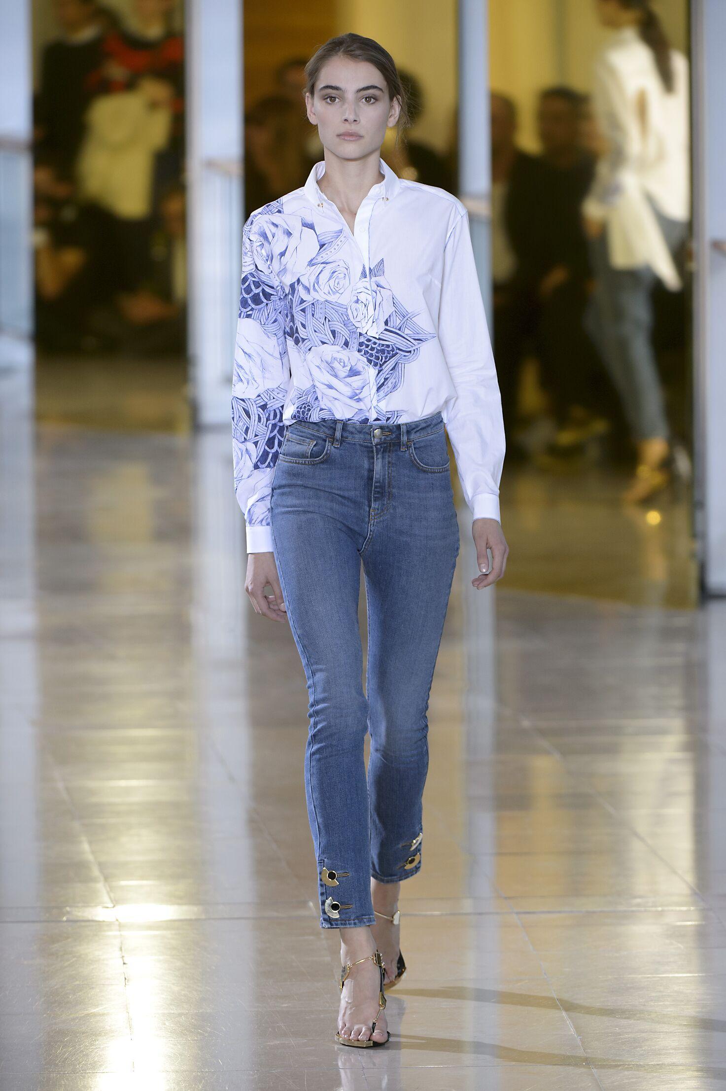 Anthony Vaccarello Fashion Show