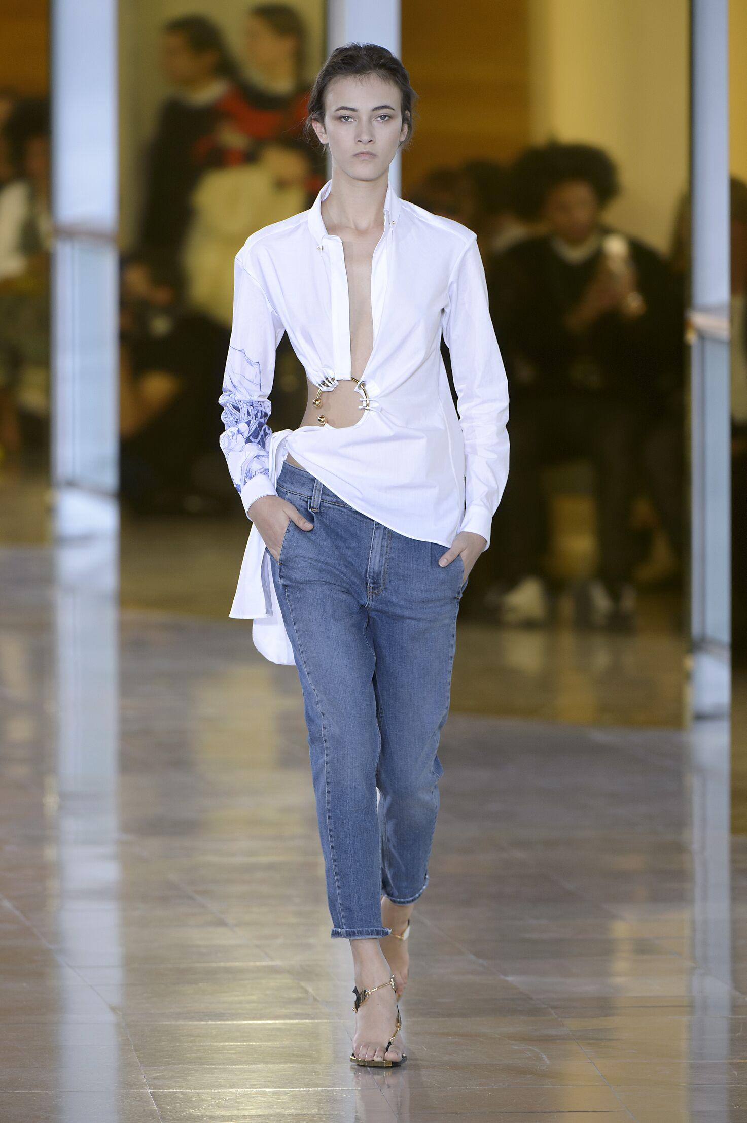 Anthony Vaccarello Paris Fashion Week Womenswear
